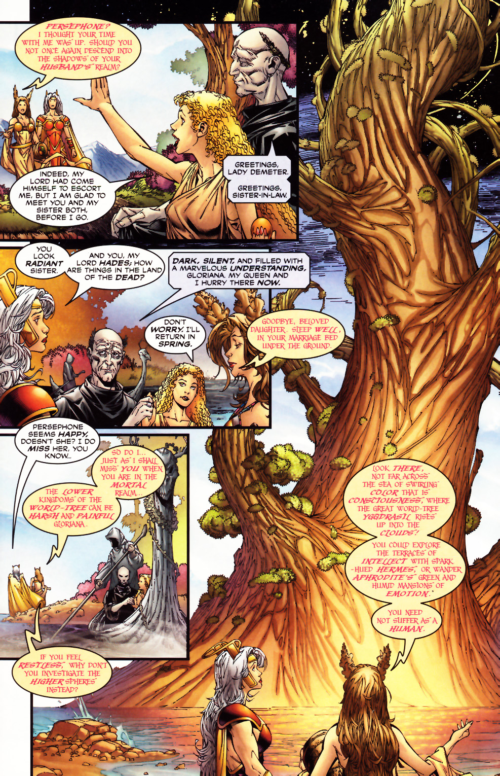Read online Alan Moore's Glory comic -  Issue #0 - 6