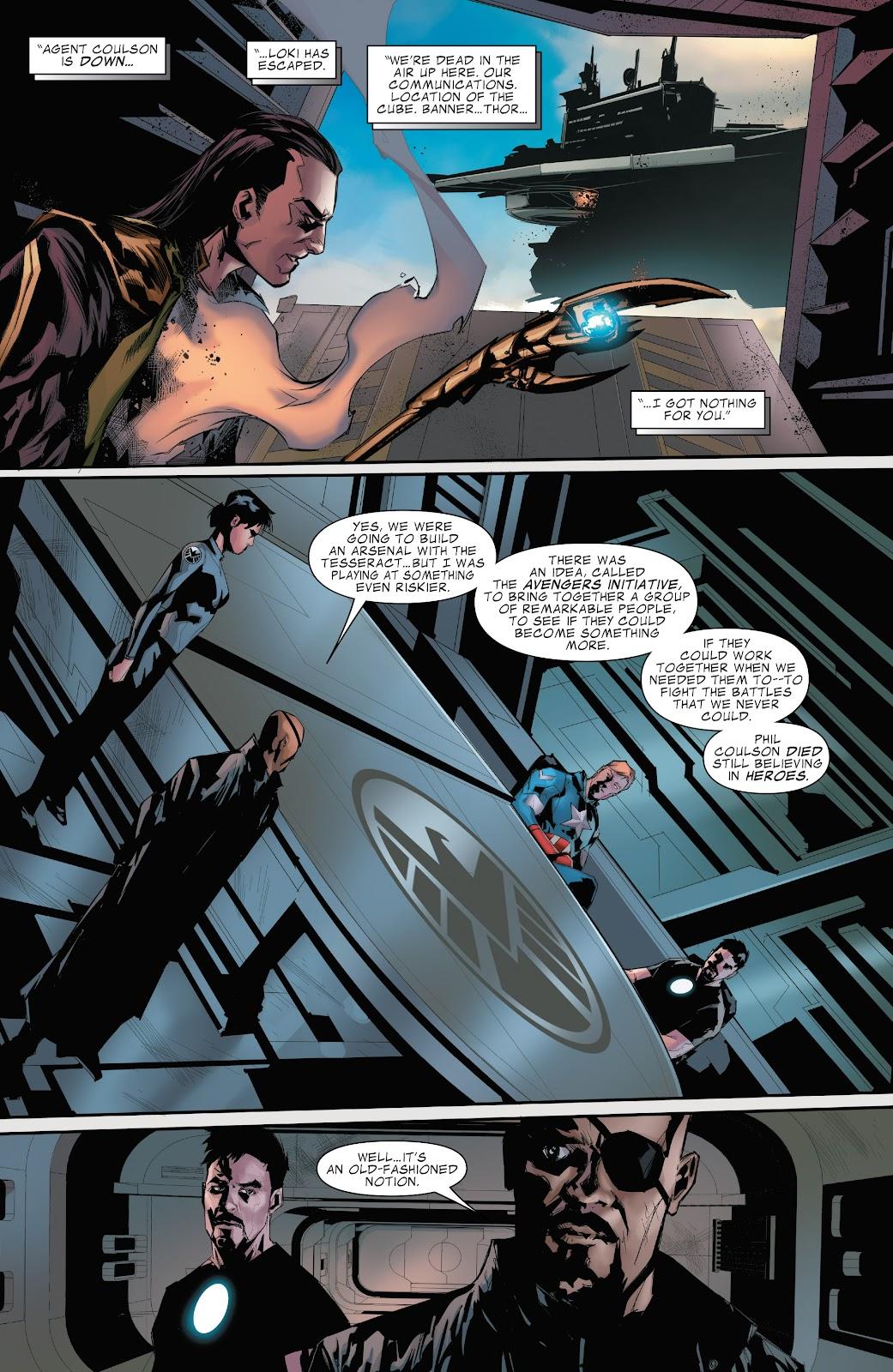 Read online Marvel's The Avengers comic -  Issue #2 - 6