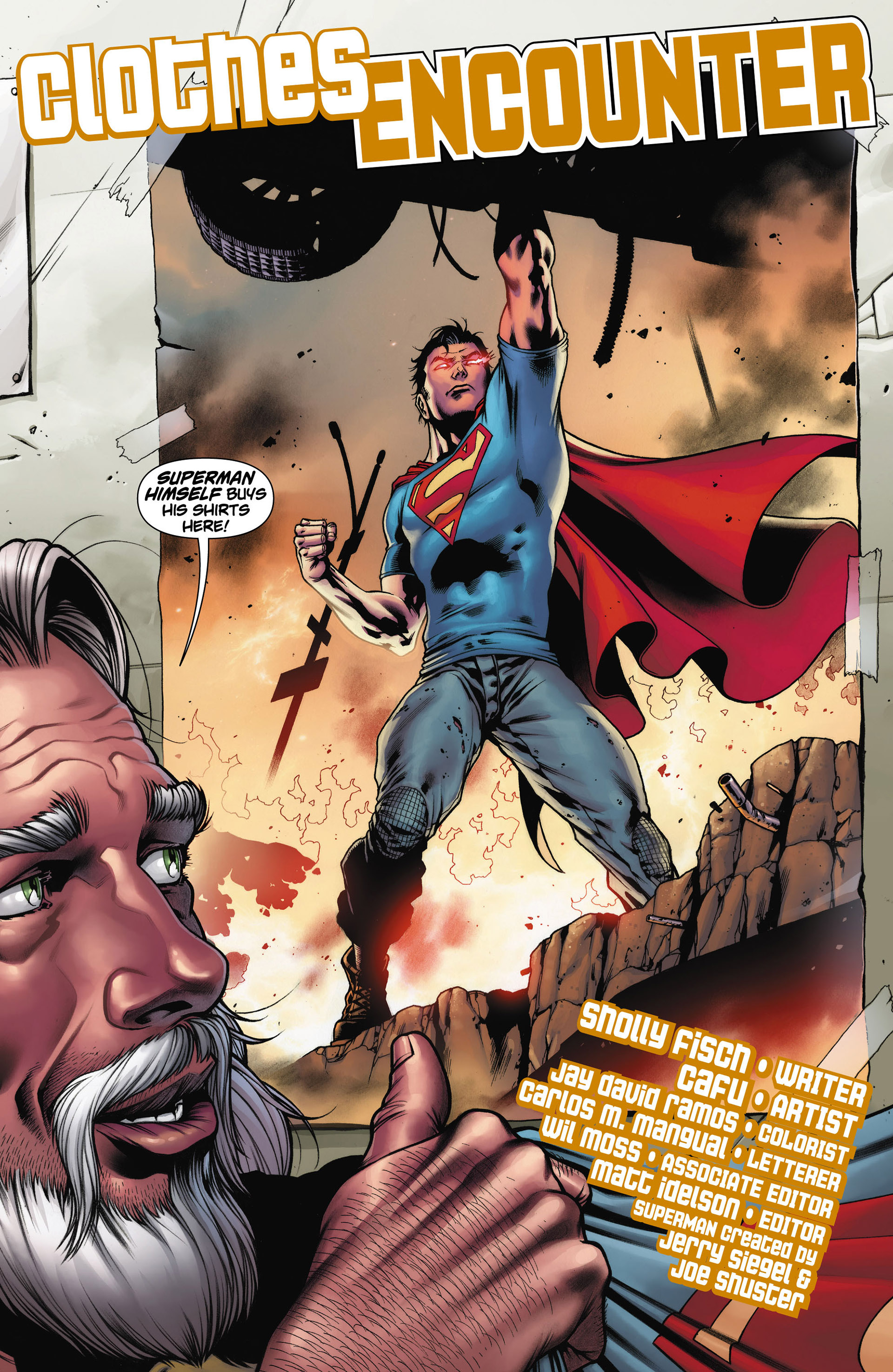 Read online Action Comics (2011) comic -  Issue #11 - 22