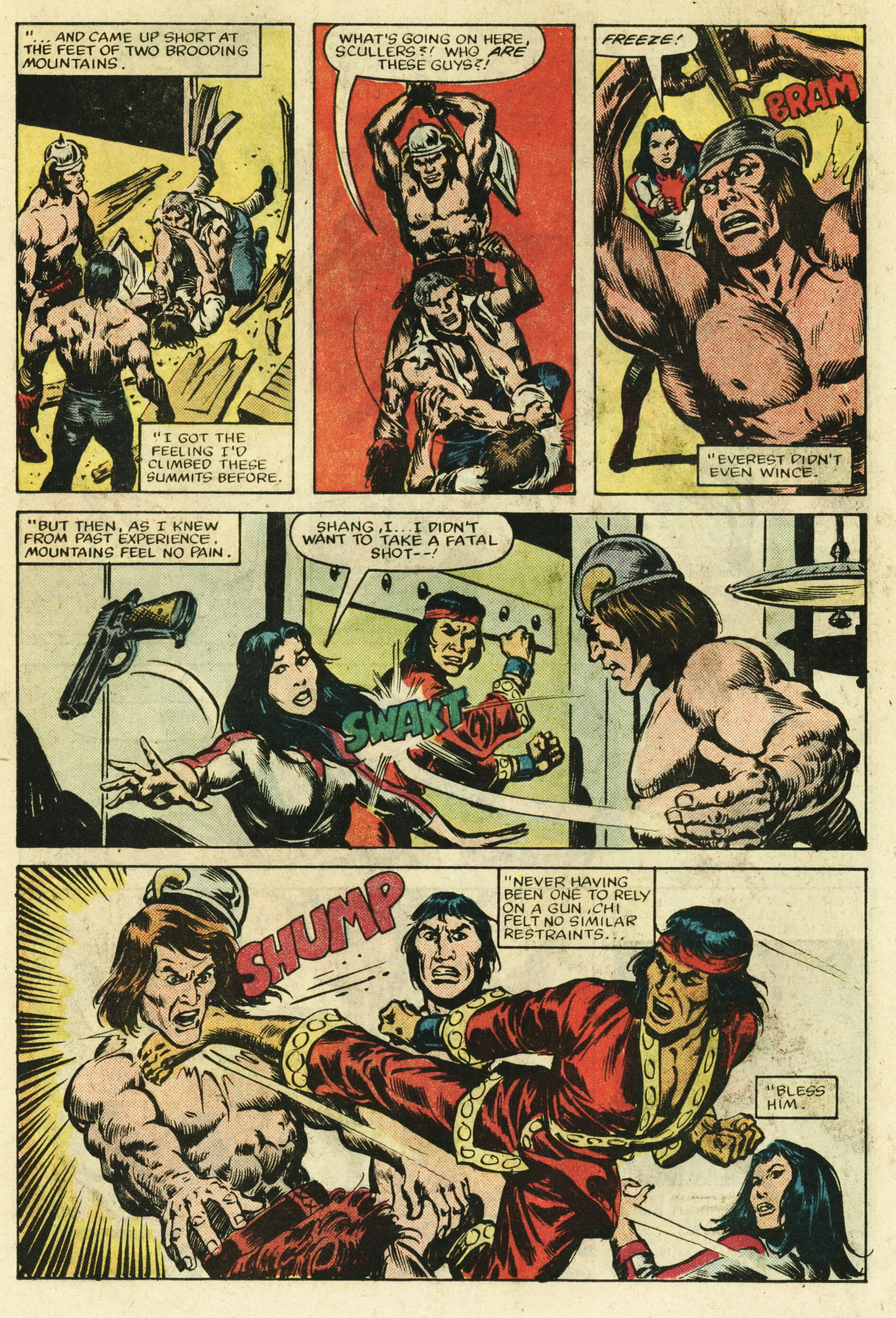 Read online Master of Kung Fu (1974) comic -  Issue #122 - 19
