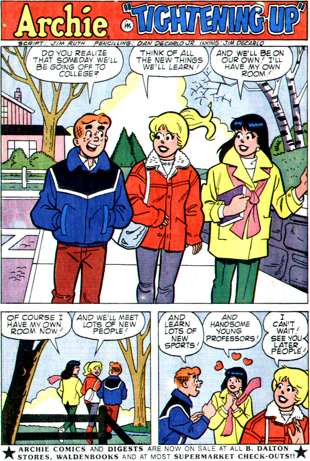 Read online Archie (1960) comic -  Issue #355 - 20