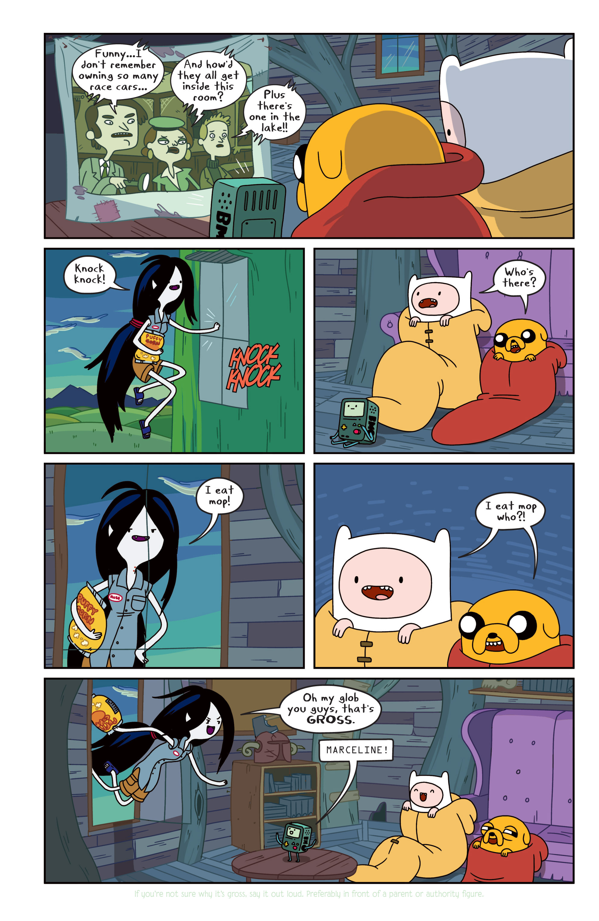 Read online Adventure Time comic -  Issue #11 - 7
