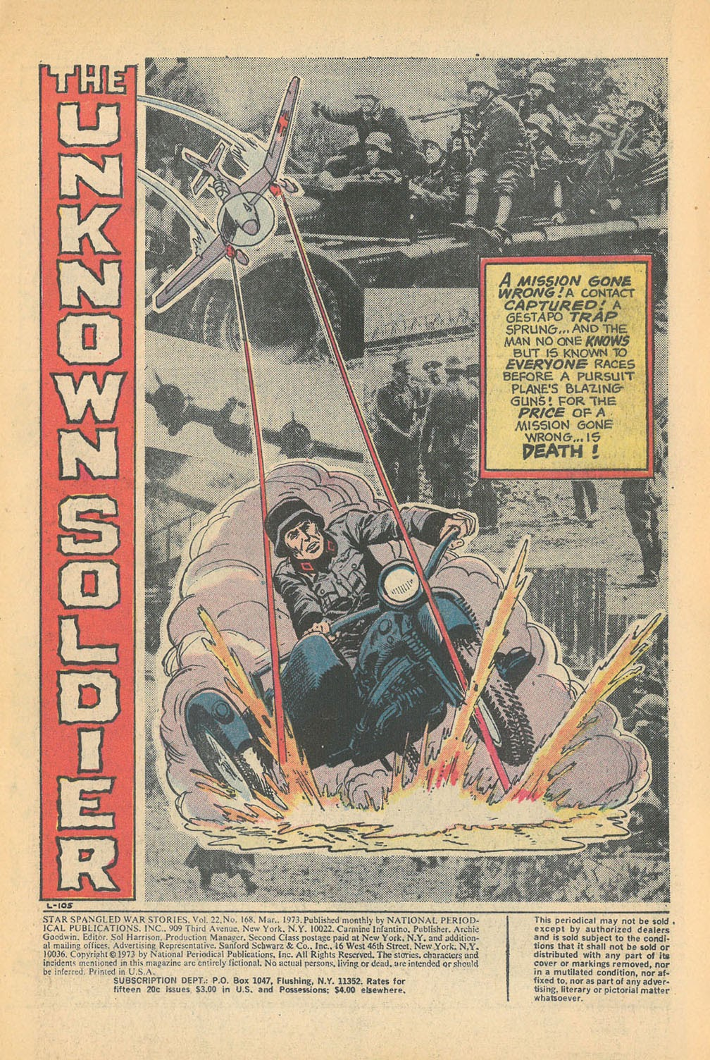 Read online Star Spangled War Stories (1952) comic -  Issue #168 - 3