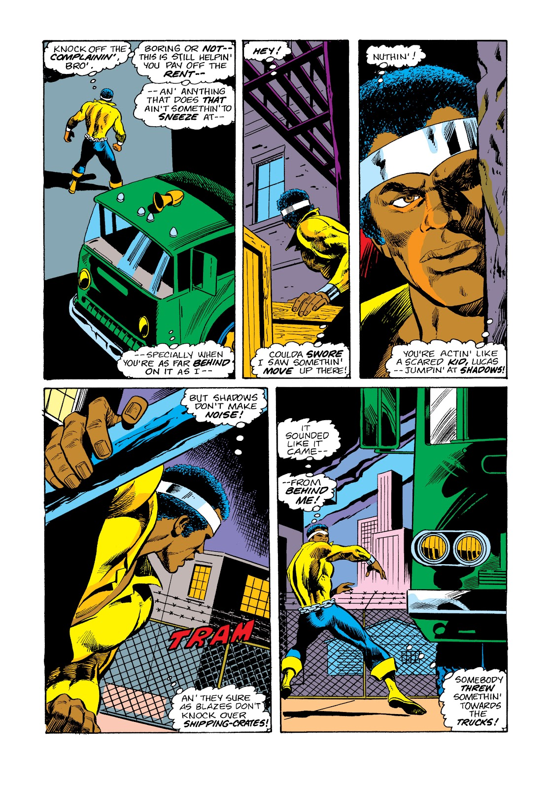 Read online Marvel Masterworks: Luke Cage, Power Man comic -  Issue # TPB 2 (Part 3) - 41