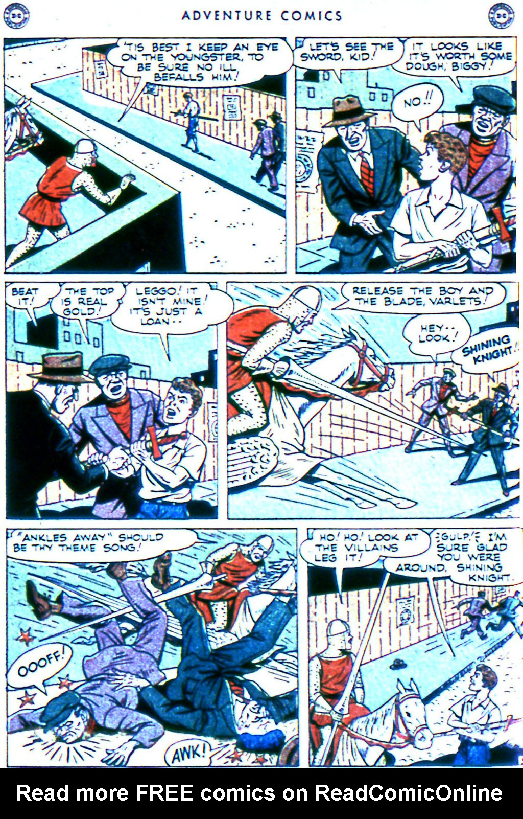Read online Adventure Comics (1938) comic -  Issue #119 - 26