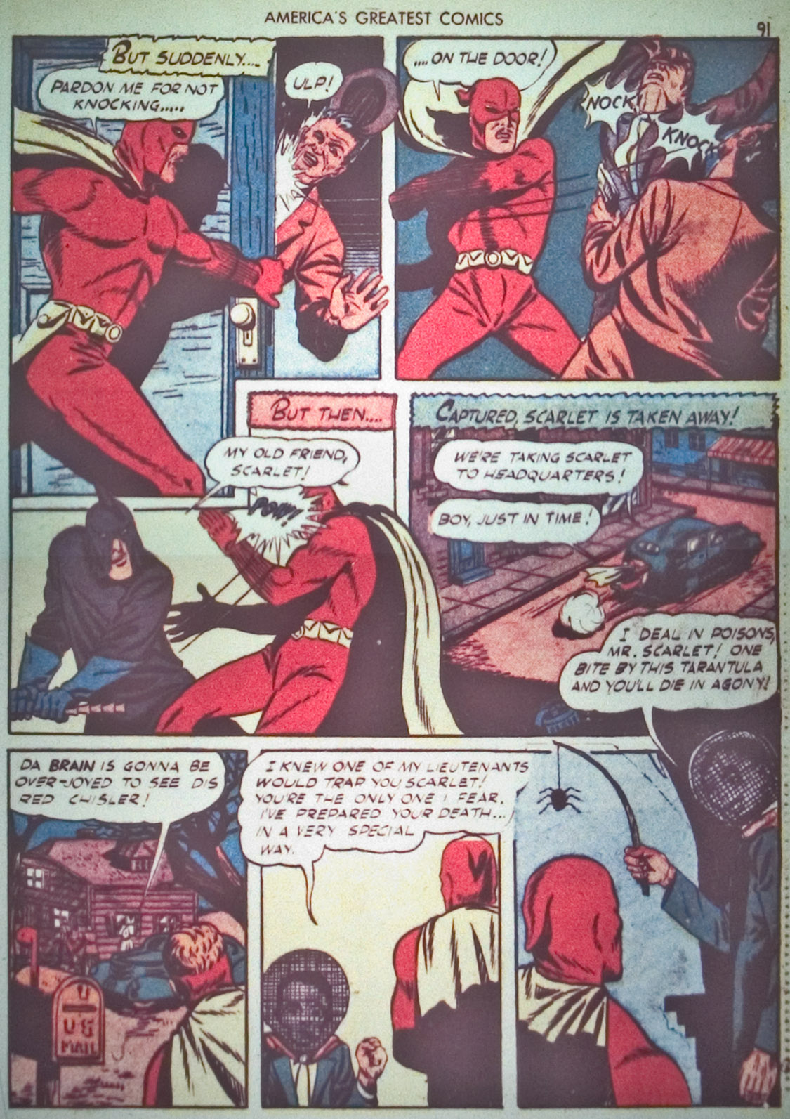 Read online America's Greatest Comics comic -  Issue #1 - 94