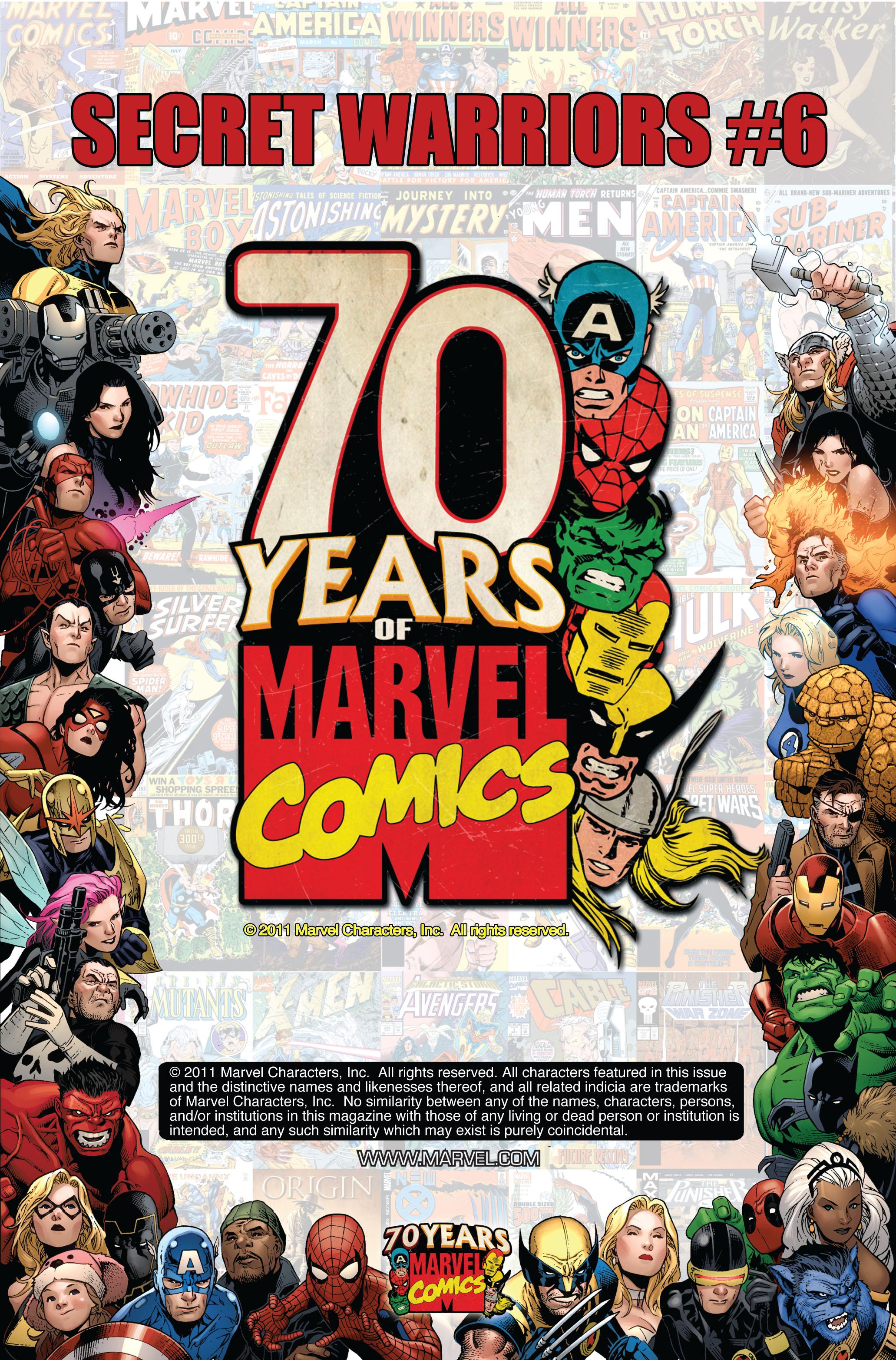 Read online Secret Warriors comic -  Issue #6 - 3