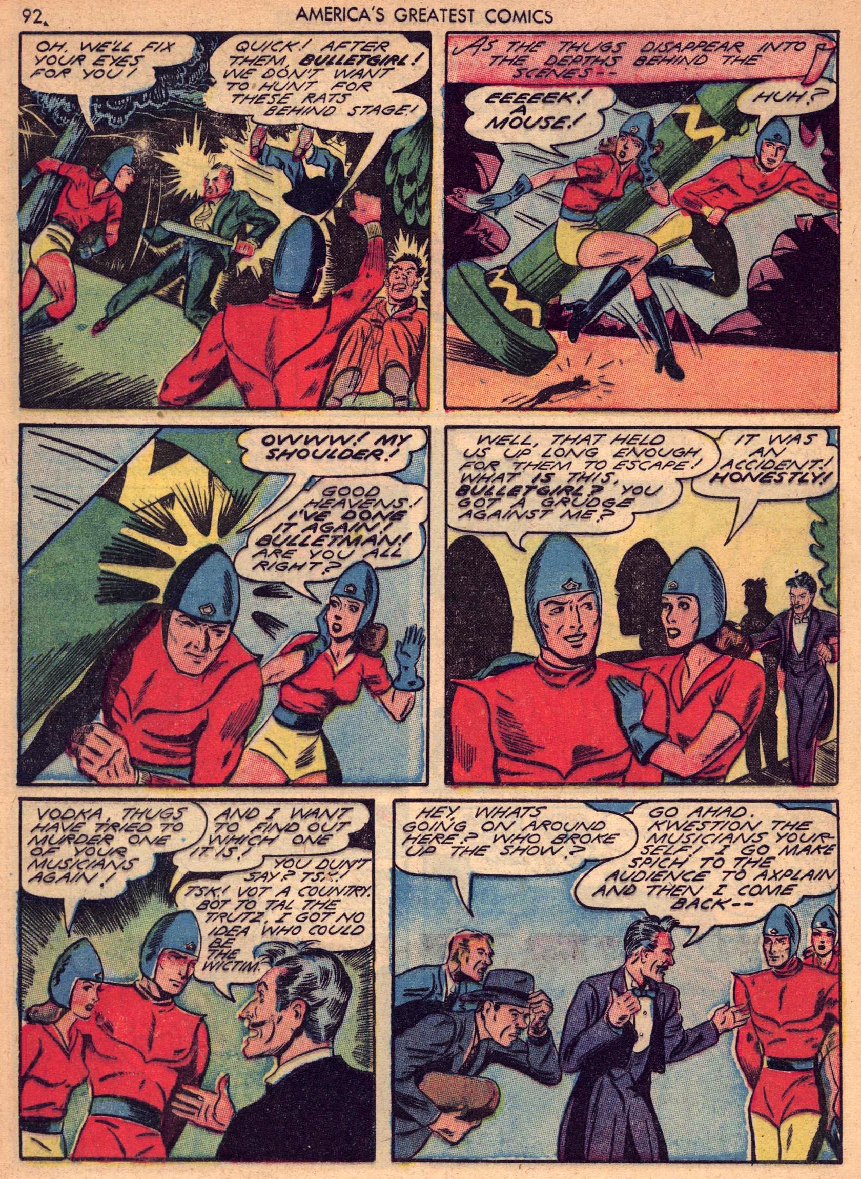 Read online America's Greatest Comics comic -  Issue #7 - 91