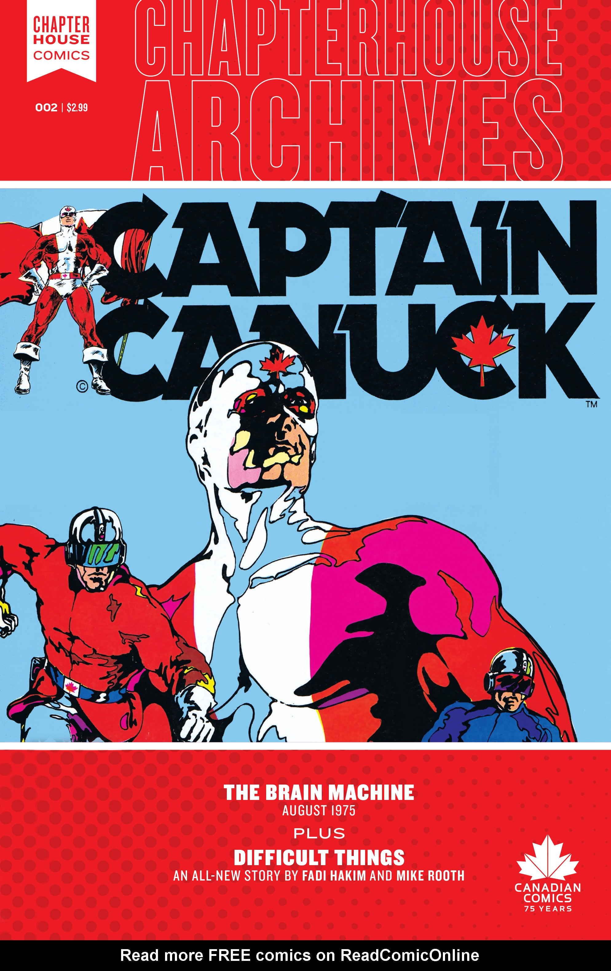 Chapterhouse Archives: Captain Canuck 2 Page 1