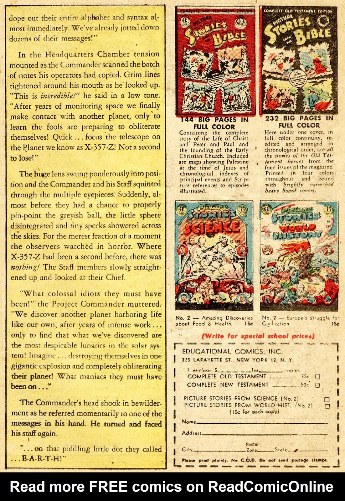 Weird Fantasy (1951) issue 13 - Page 19