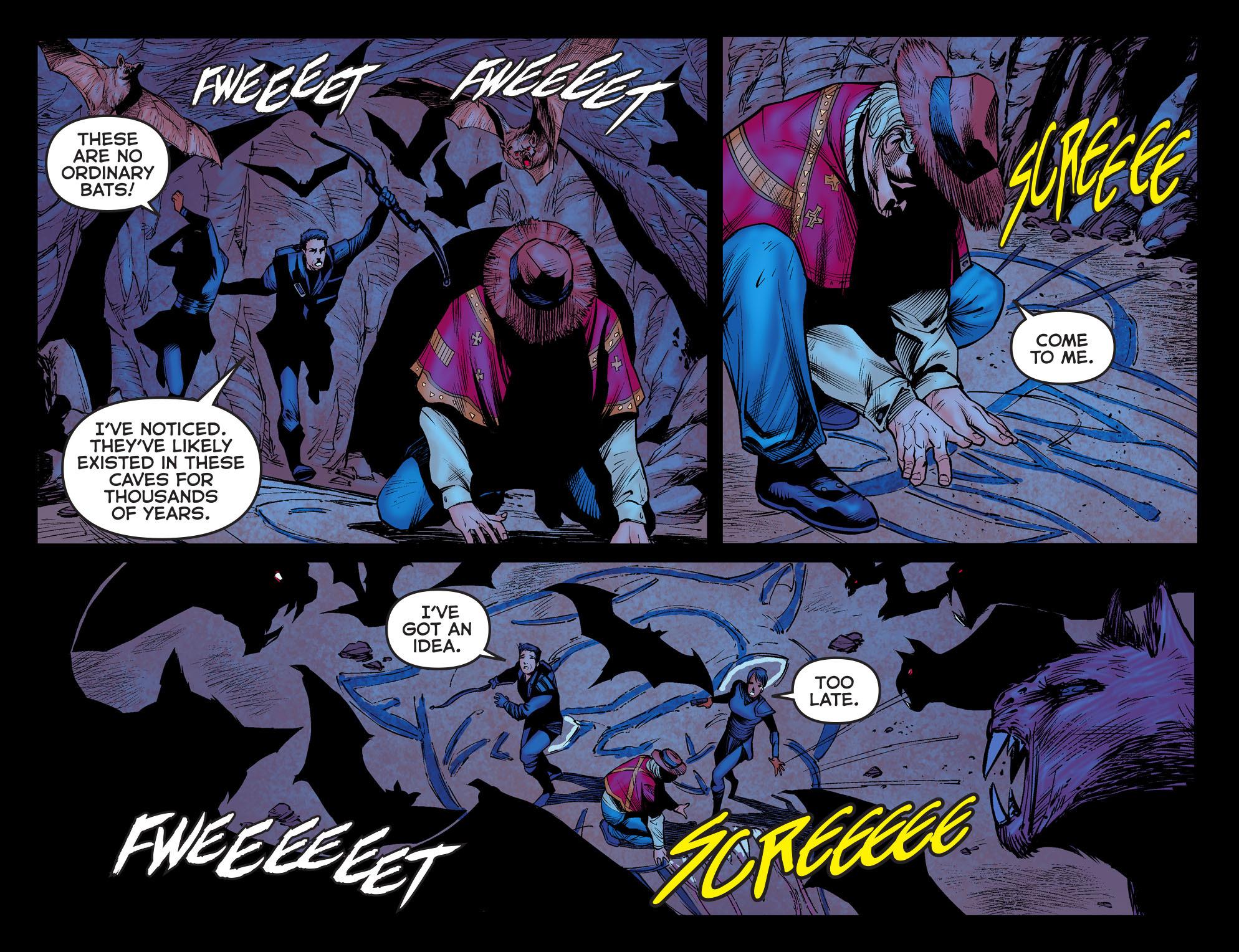 Read online Arrow: The Dark Archer comic -  Issue #3 - 19