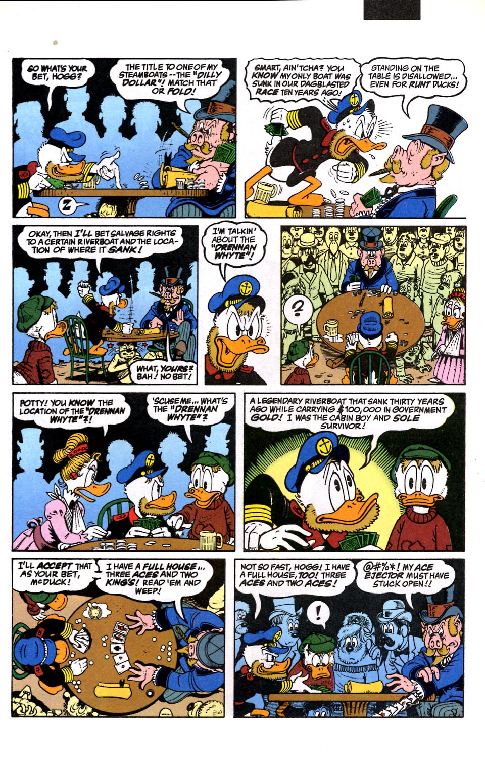 Read online Uncle Scrooge (1953) comic -  Issue #286 - 4