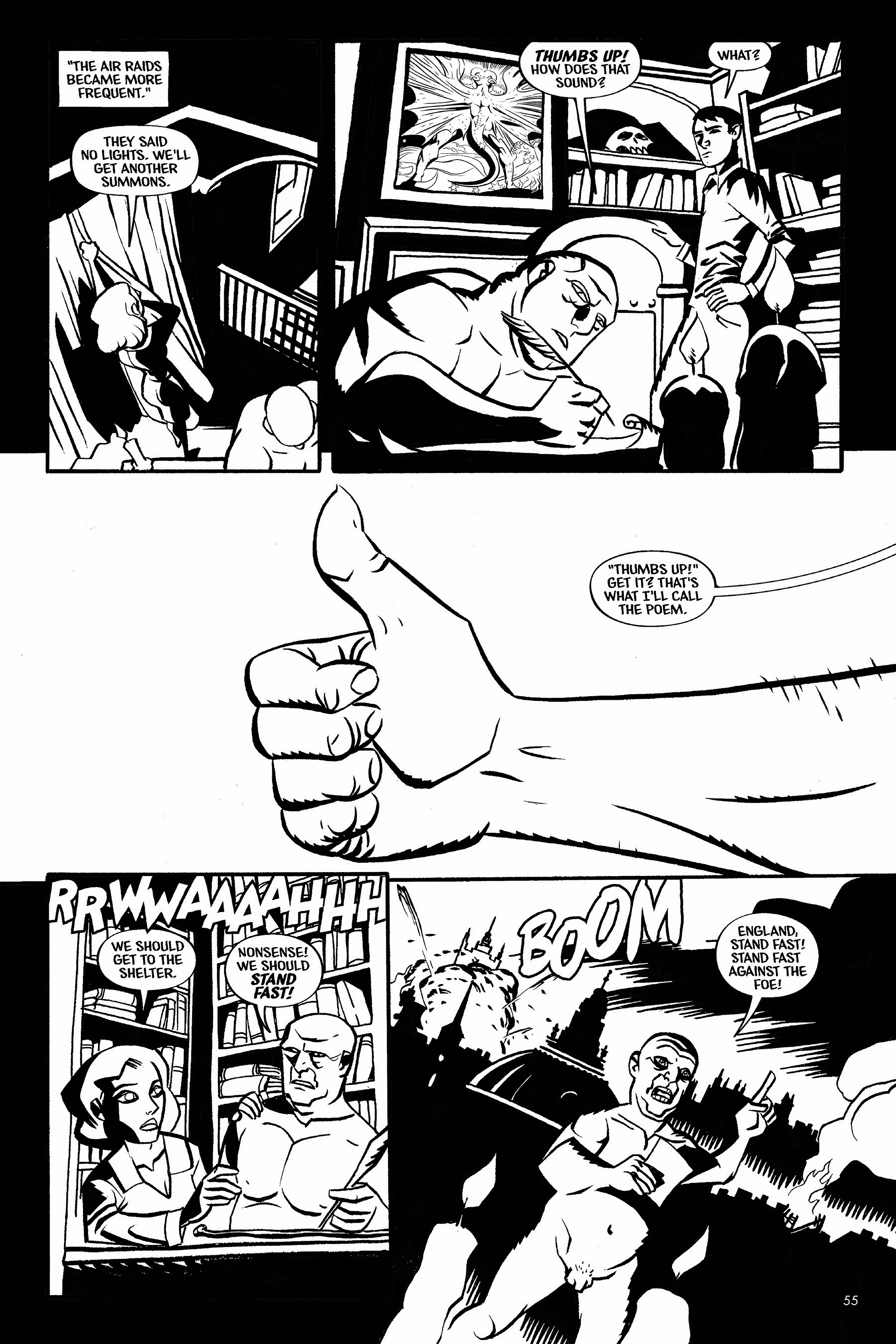 Read online Aleister & Adolf comic -  Issue # TPB - 54