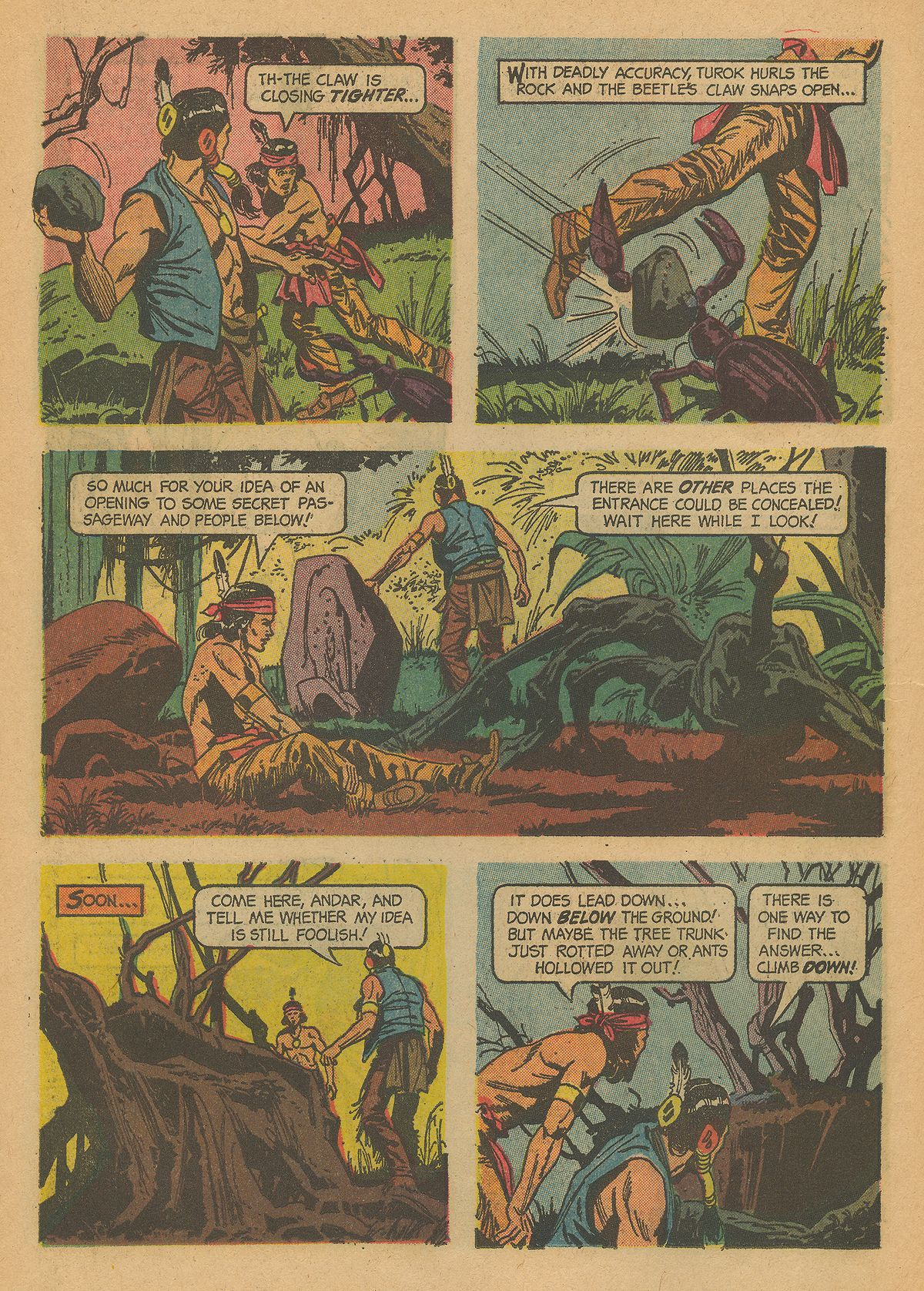 Read online Turok, Son of Stone comic -  Issue #43 - 14