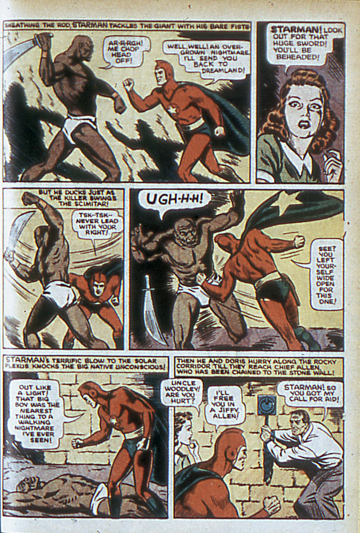 Read online Adventure Comics (1938) comic -  Issue #63 - 14