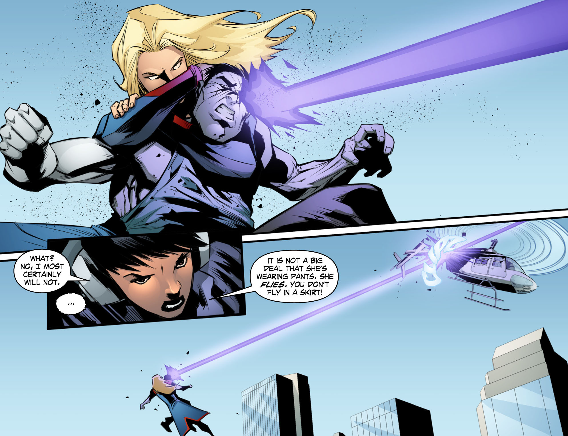 Read online Smallville: Chaos [II] comic -  Issue #10 - 5