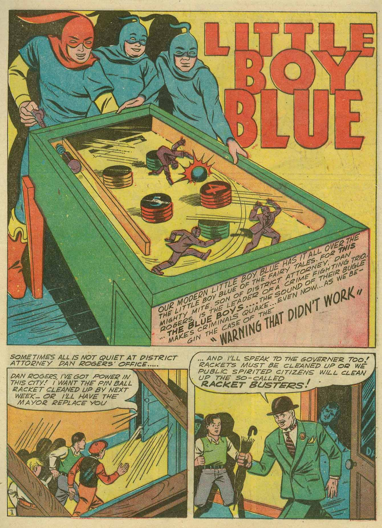 Read online Sensation (Mystery) Comics comic -  Issue #14 - 49