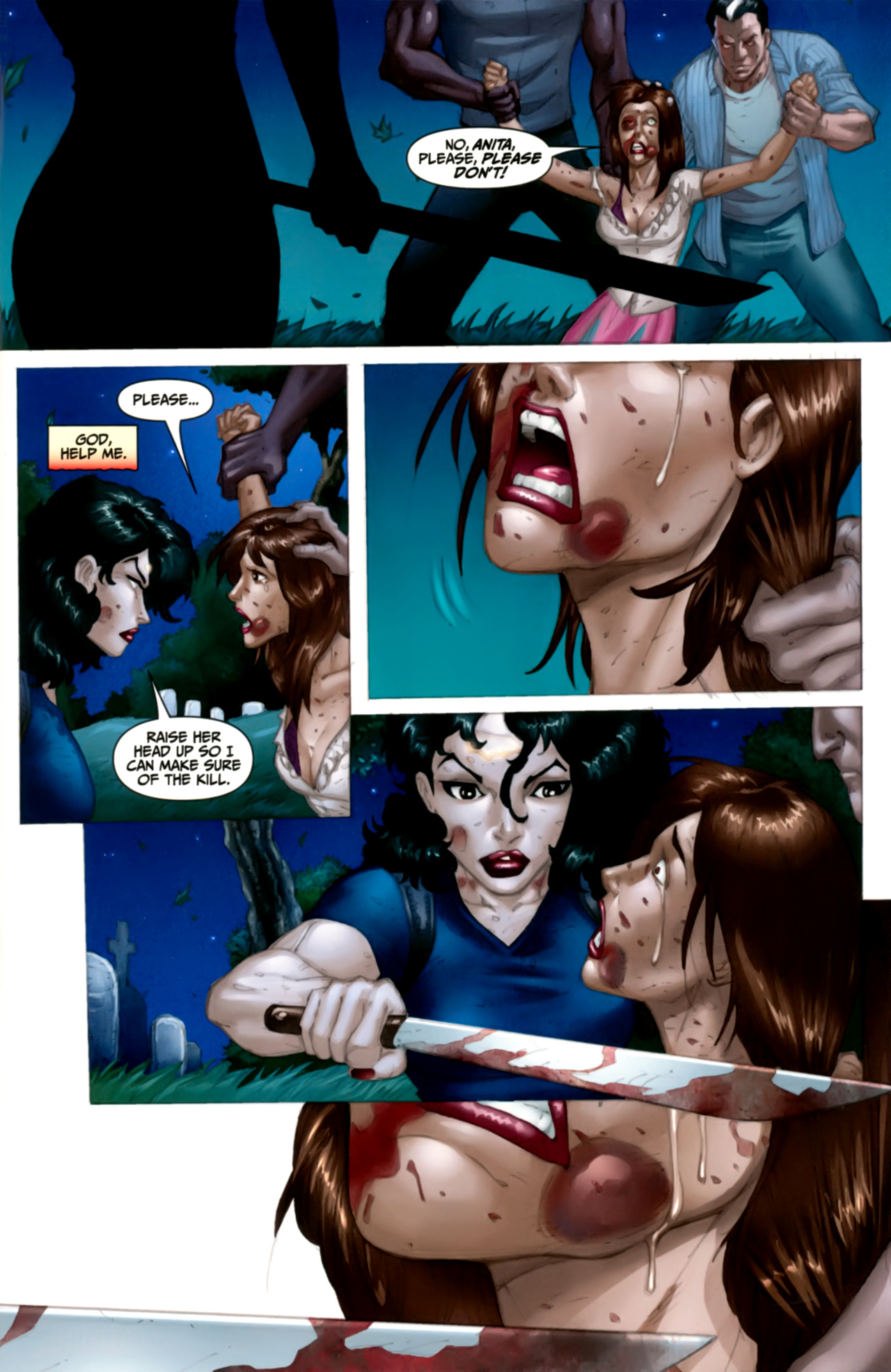 Read online Anita Blake: The Laughing Corpse - Executioner comic -  Issue #4 - 32