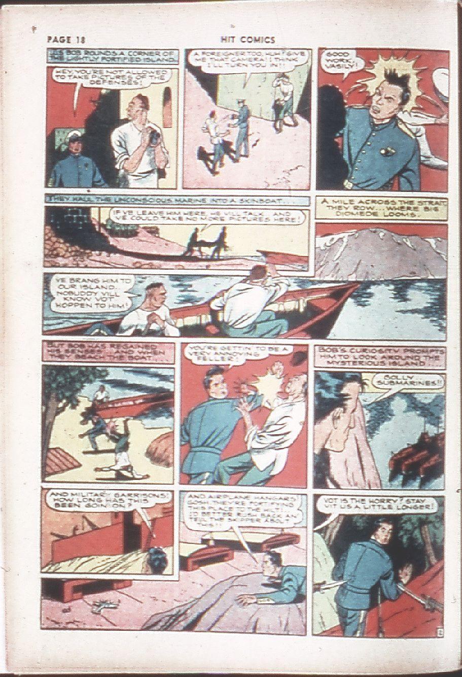 Read online Hit Comics comic -  Issue #7 - 20