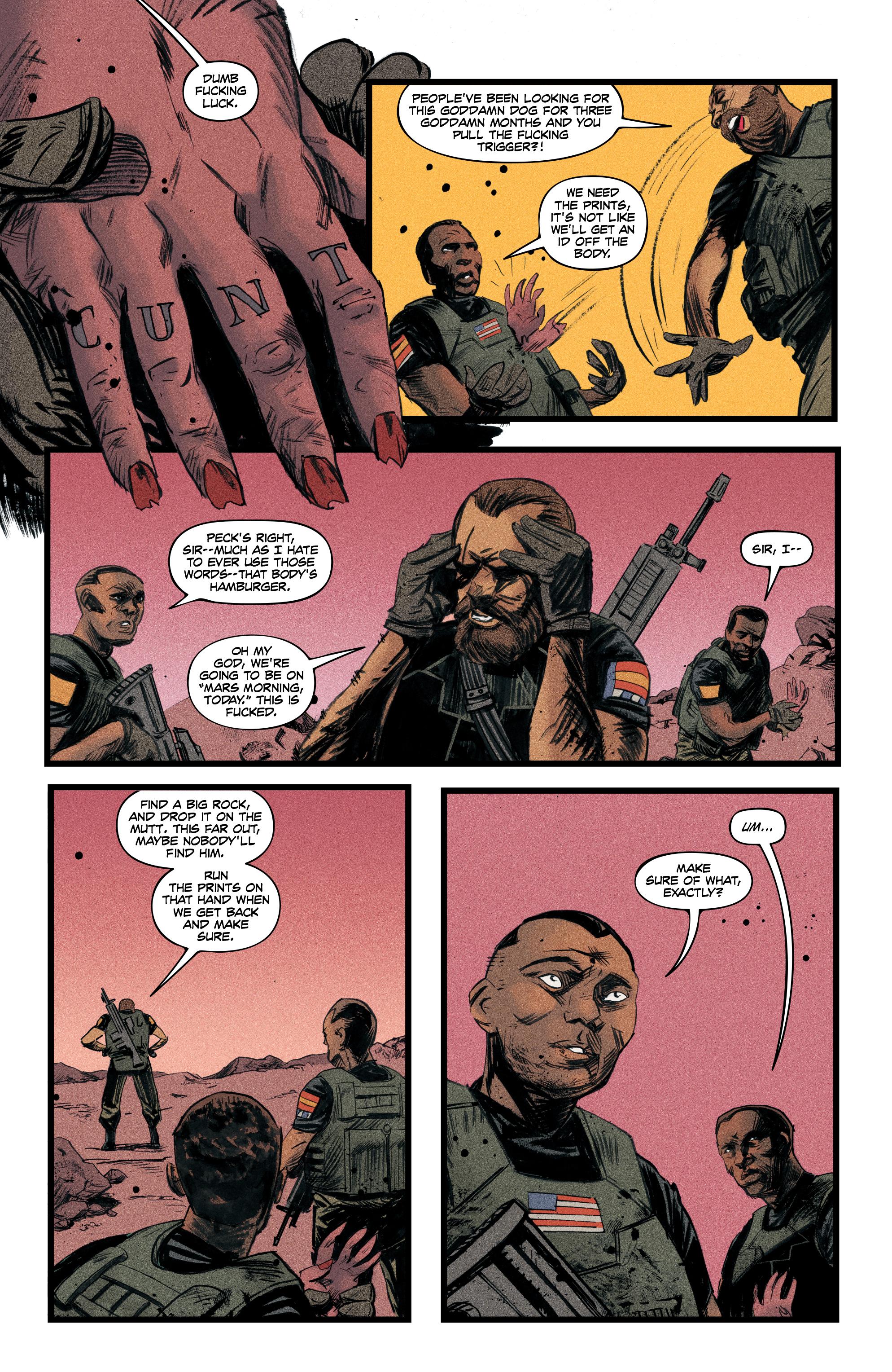 Read online Redline comic -  Issue #4 - 7