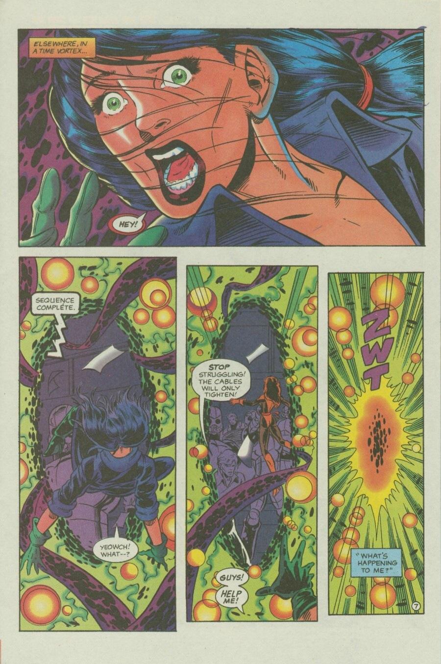 Read online Ex-Mutants comic -  Issue #6 - 9