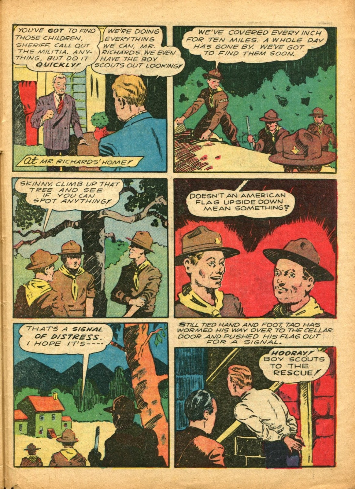 Read online Super-Magician Comics comic -  Issue #5 - 58