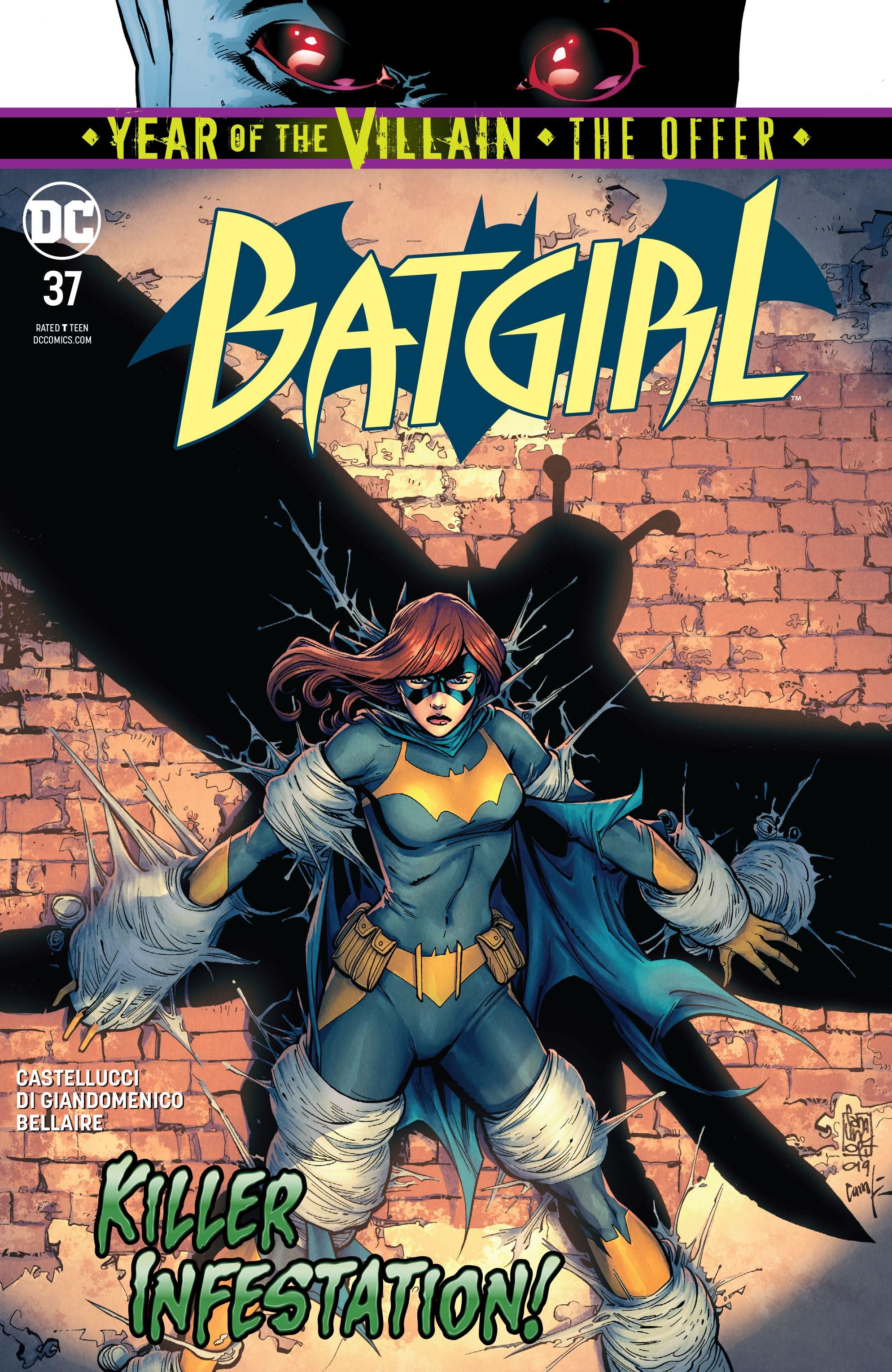 Batgirl (2016) 37 Page 1