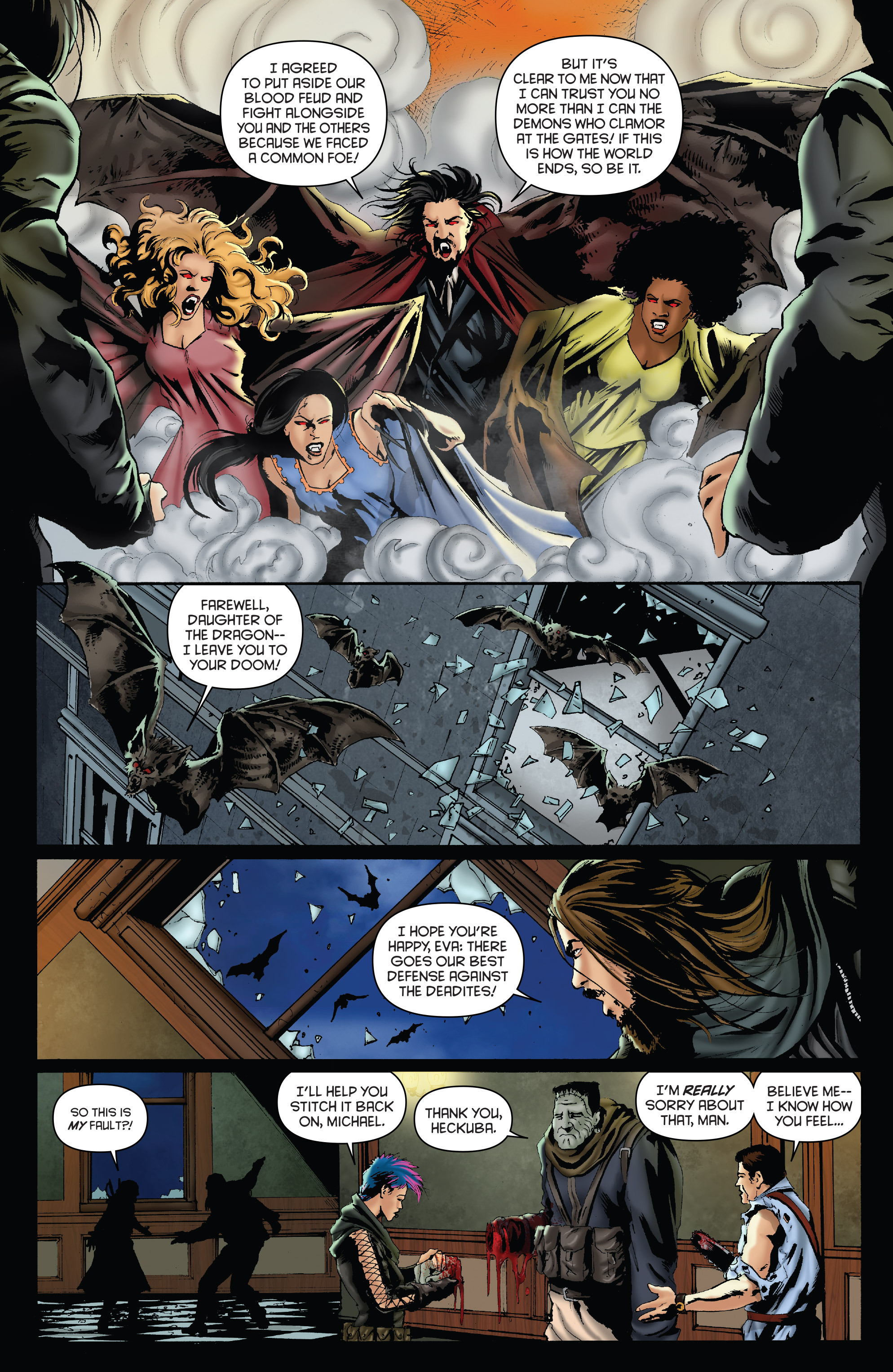 Read online Army of Darkness: Furious Road comic -  Issue #3 - 10