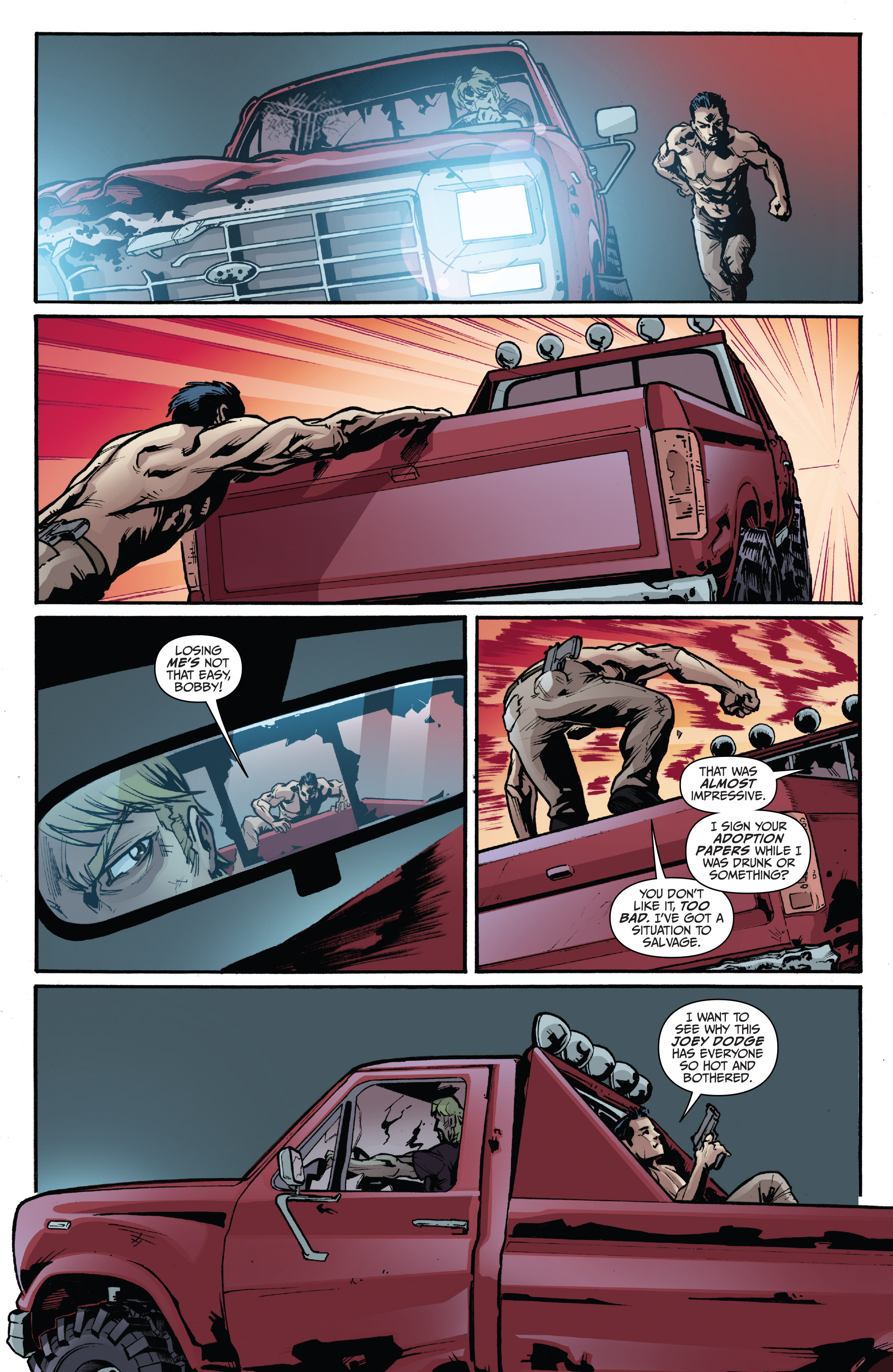 Read online 3 Guns comic -  Issue #3 - 7