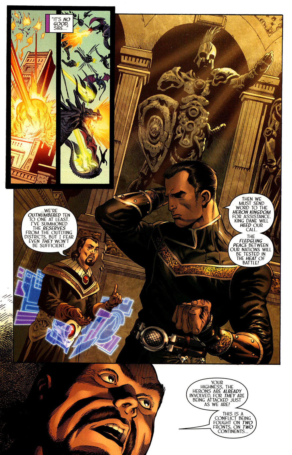 Read online Scion comic -  Issue #40 - 13