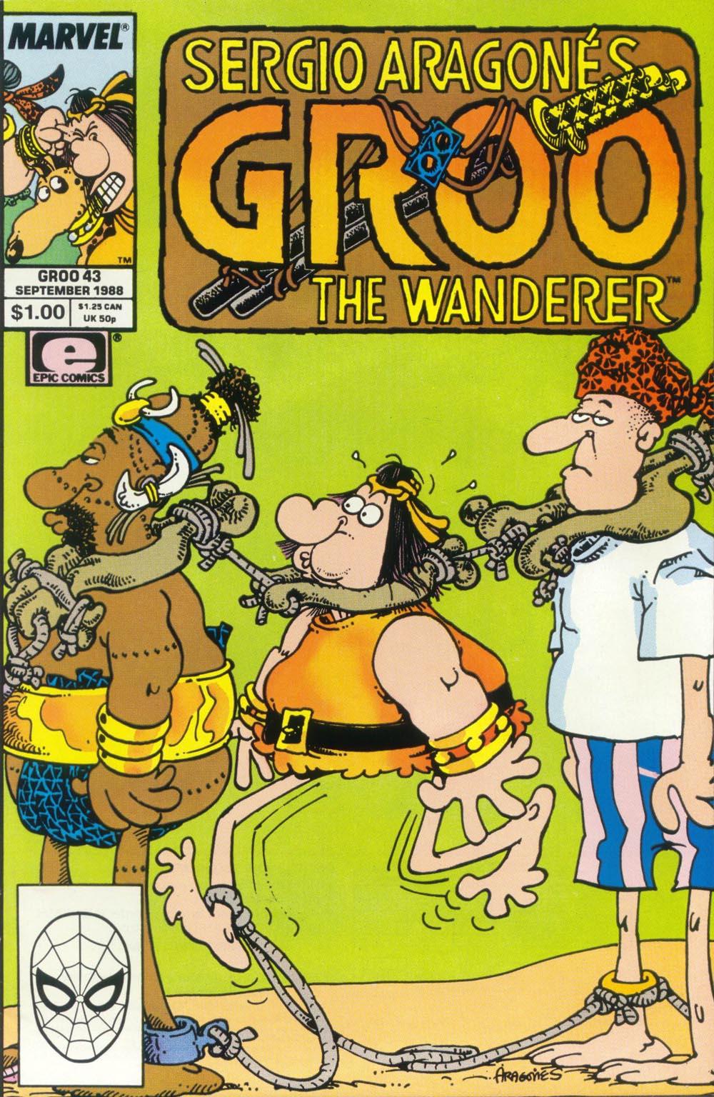 Read online Sergio Aragonés Groo the Wanderer comic -  Issue #43 - 1