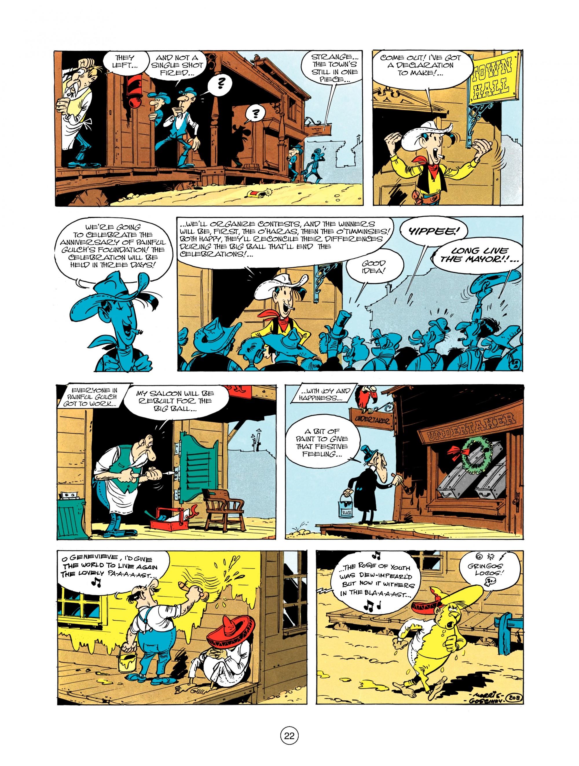 Read online A Lucky Luke Adventure comic -  Issue #12 - 22