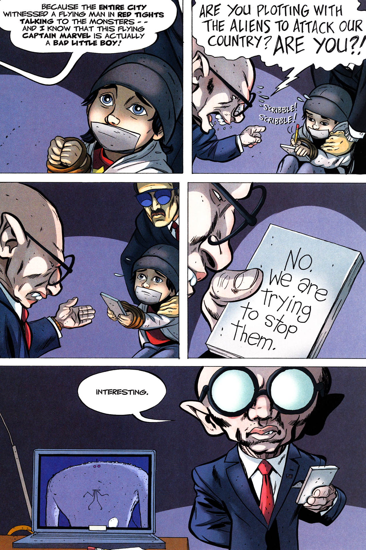 Read online Shazam!: The Monster Society of Evil comic -  Issue #3 - 15