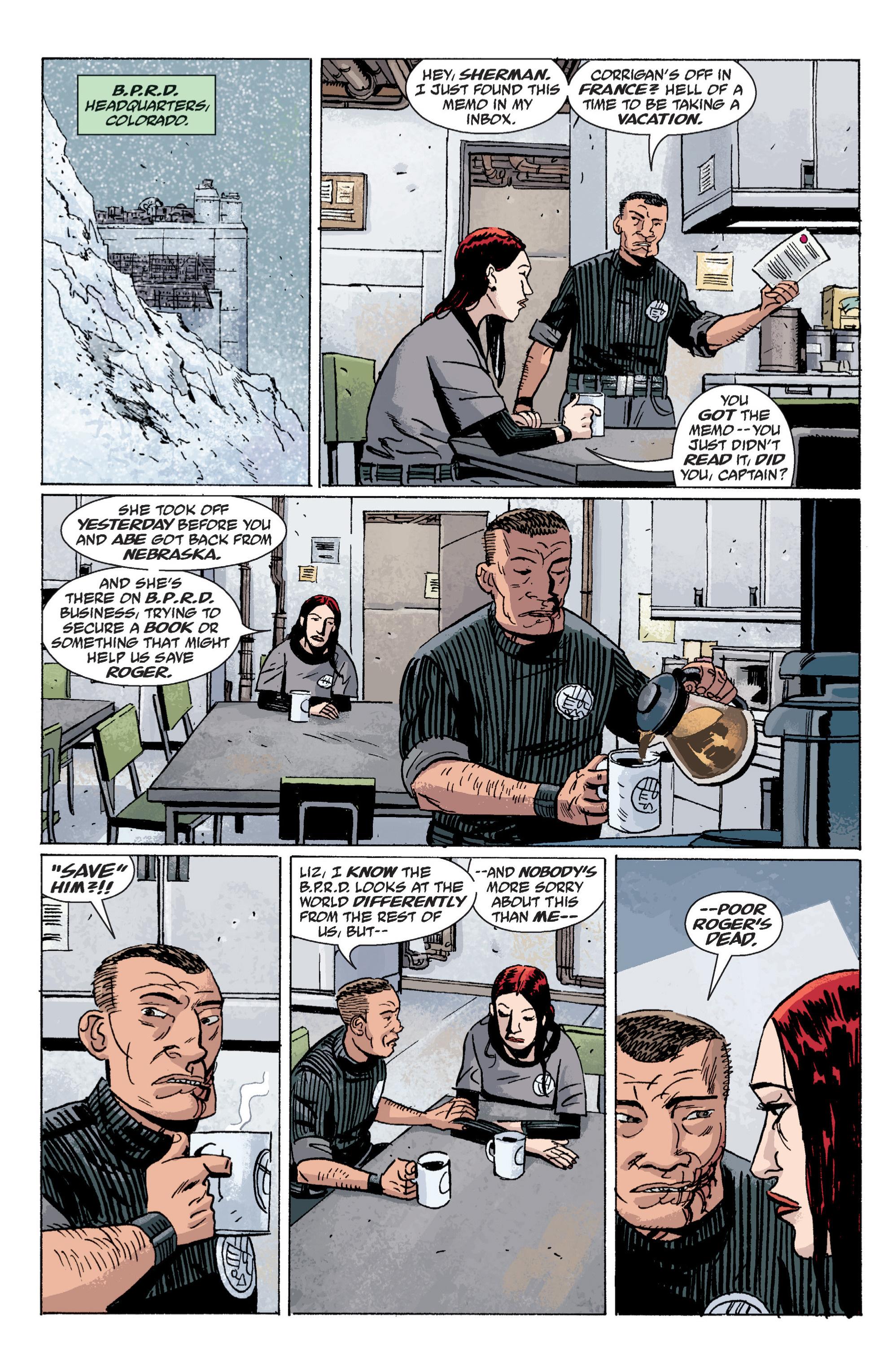 Read online B.P.R.D. (2003) comic -  Issue # TPB 6 - 17