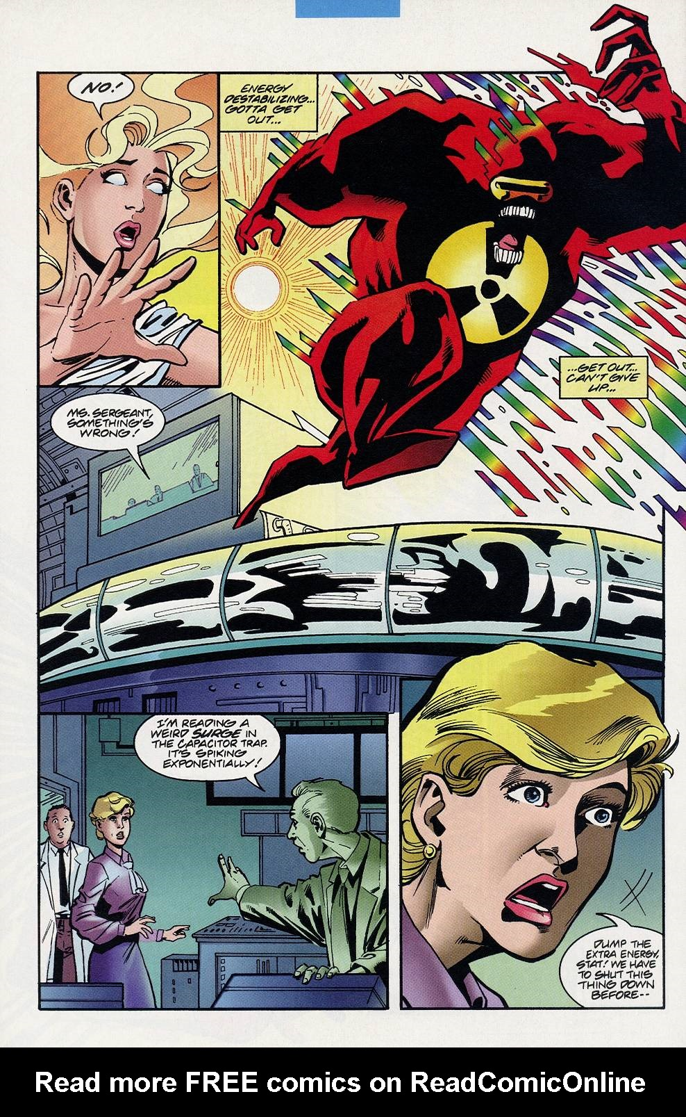 Read online Solar, Man of the Atom comic -  Issue #59 - 21