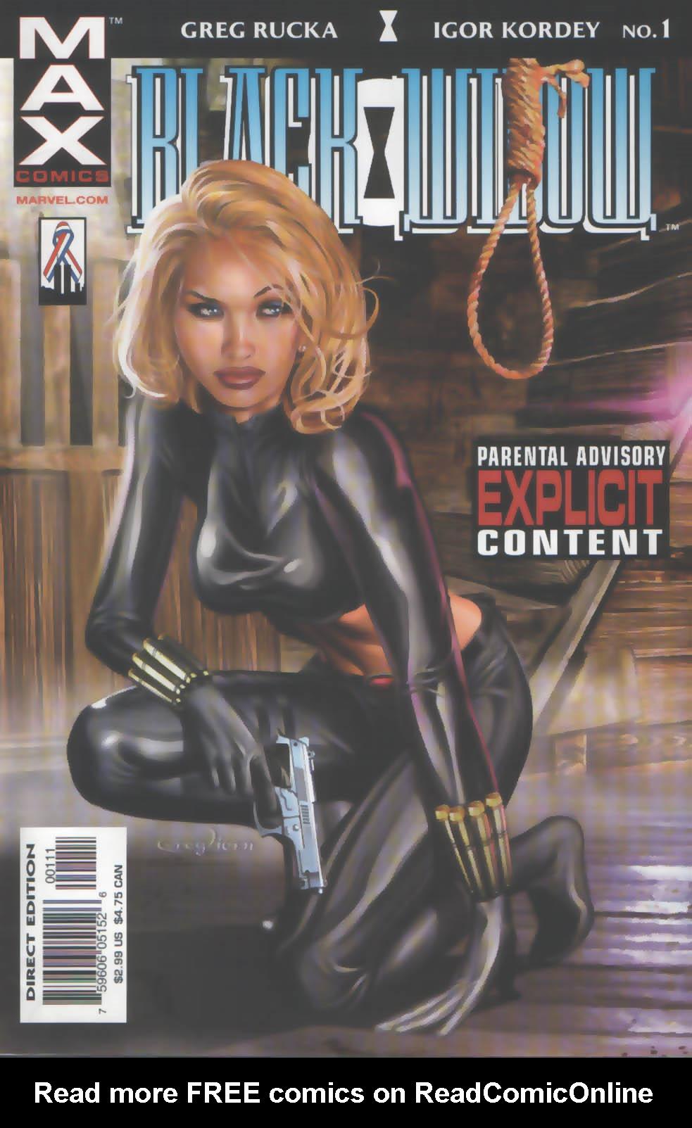 Black Widow: Pale Little Spider 1 Page 1