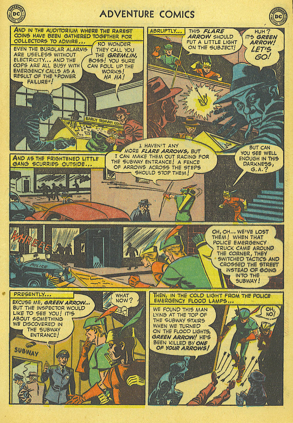 Read online Adventure Comics (1938) comic -  Issue #165 - 33