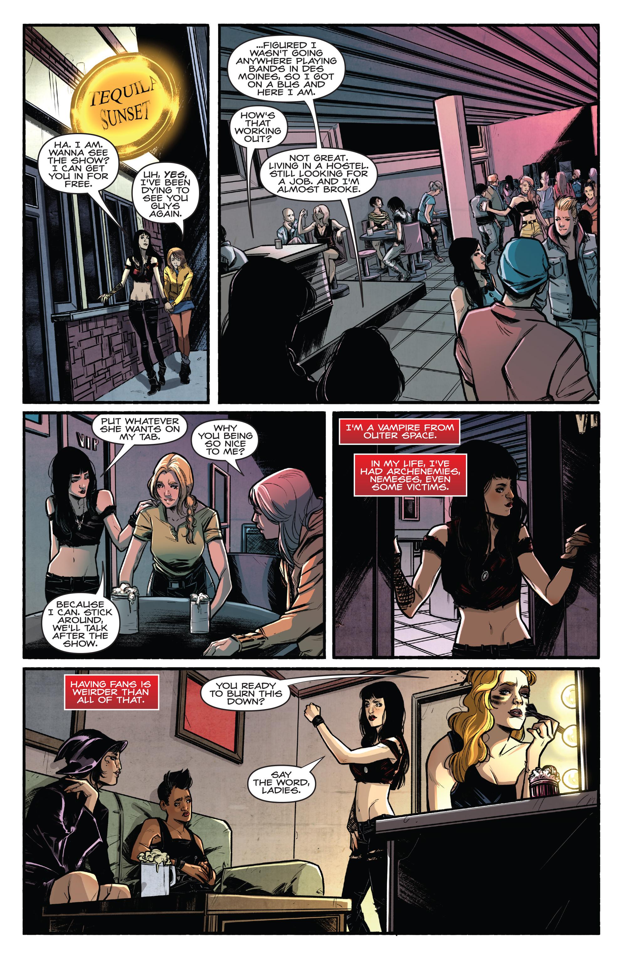Read online Kiss/Vampirella comic -  Issue #1 - 10