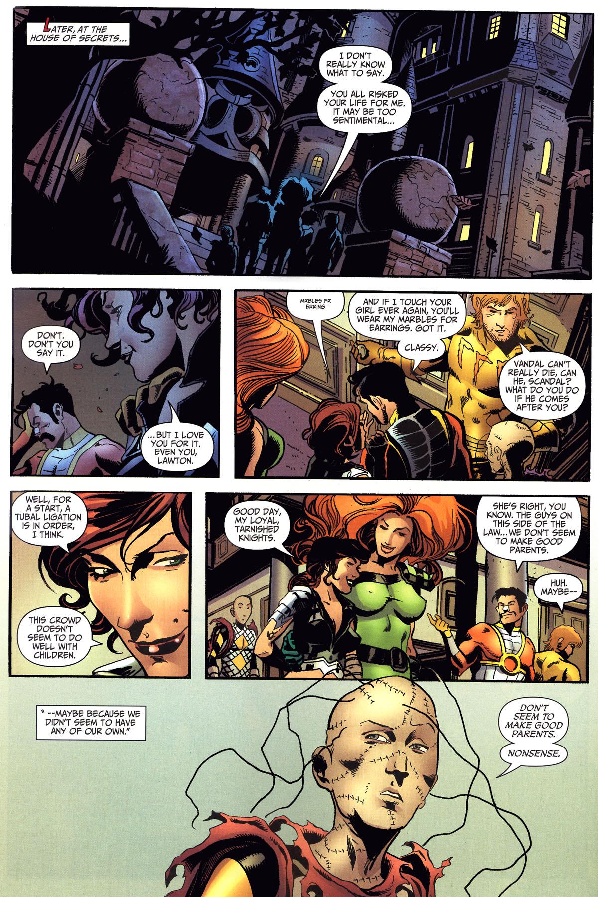 Read online Secret Six (2006) comic -  Issue #6 - 22