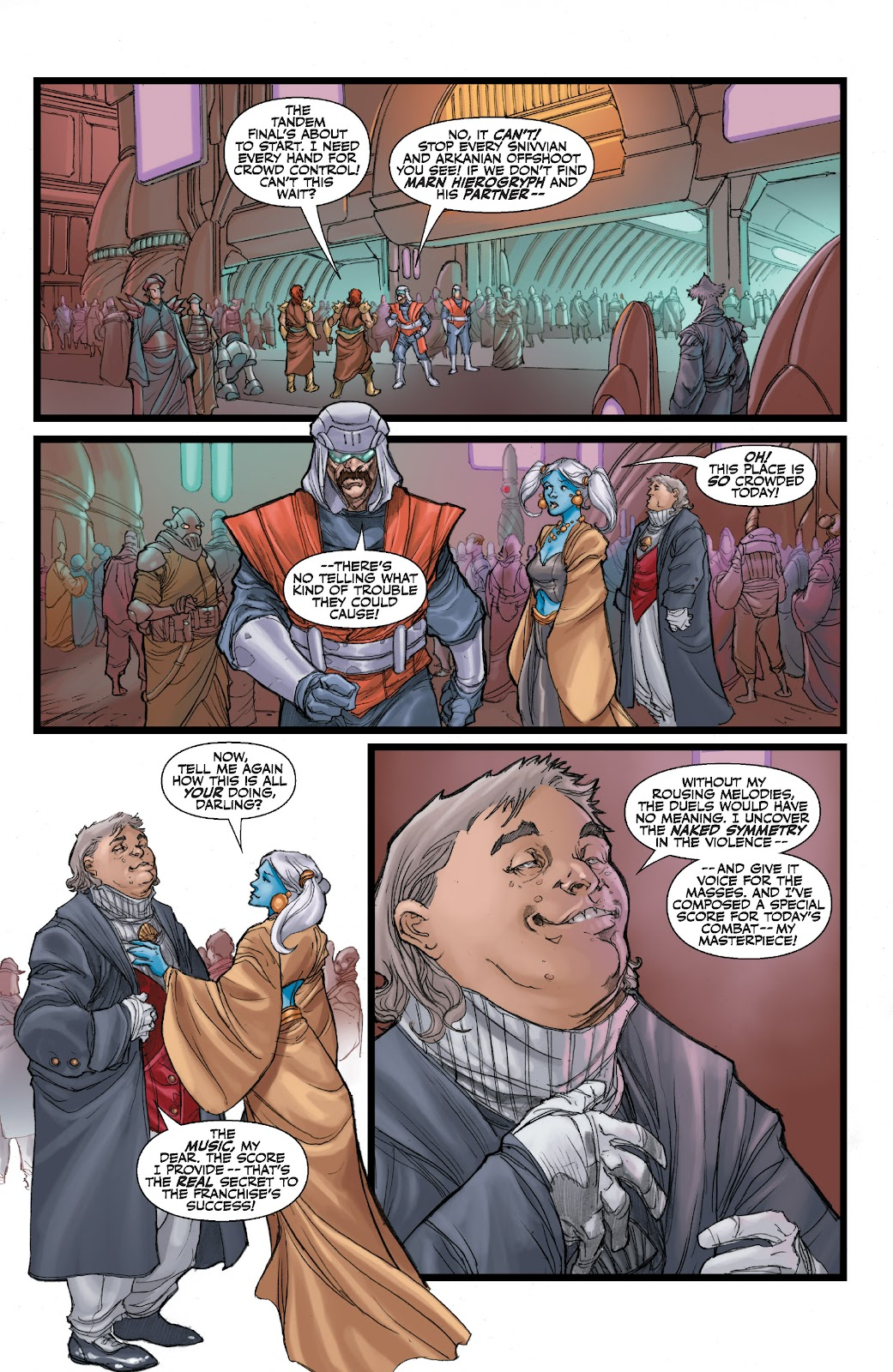 Read online Star Wars Legends: The Old Republic - Epic Collection comic -  Issue # TPB 3 (Part 1) - 77