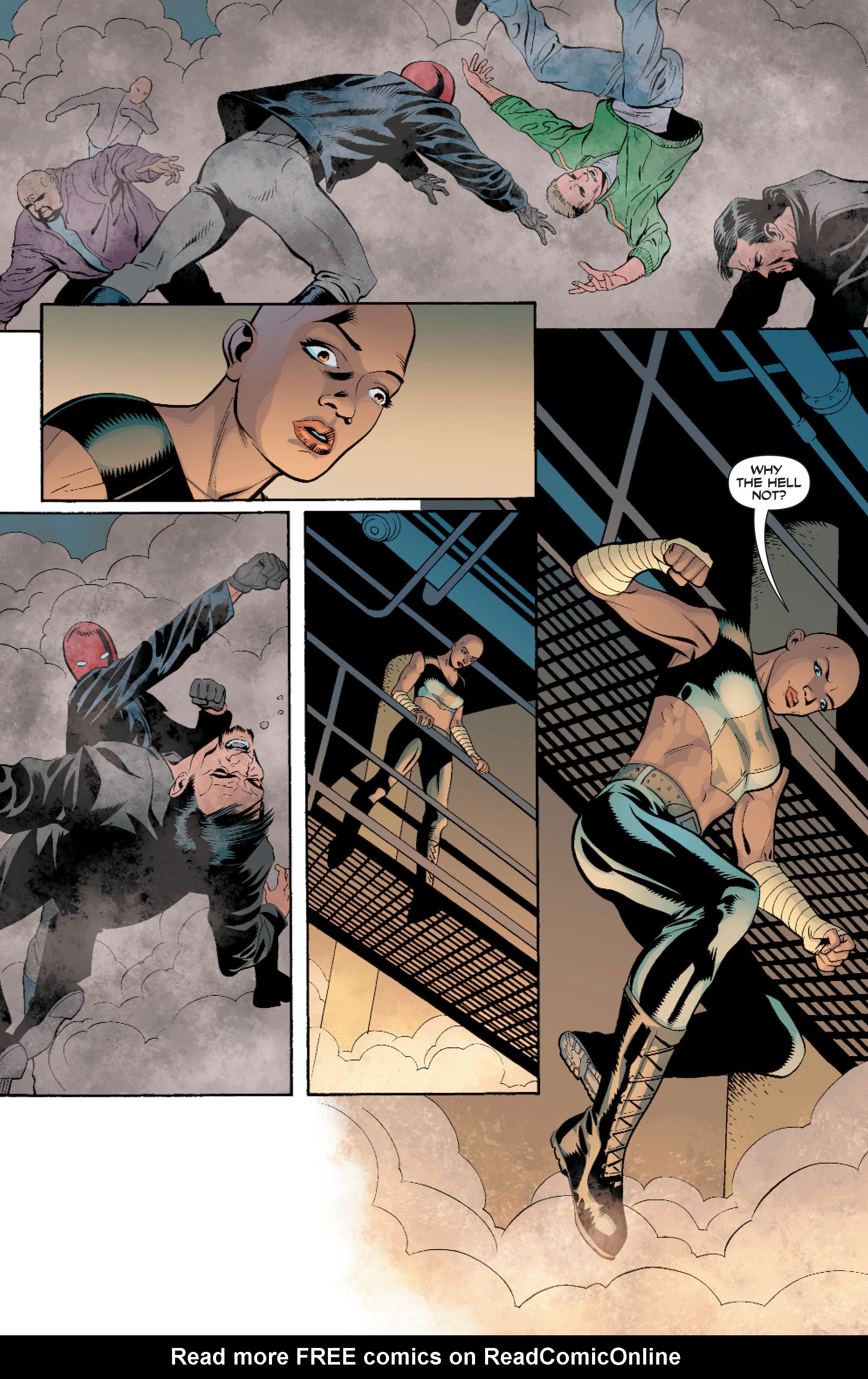 Read online Batman: Under The Red Hood comic -  Issue # Full - 141