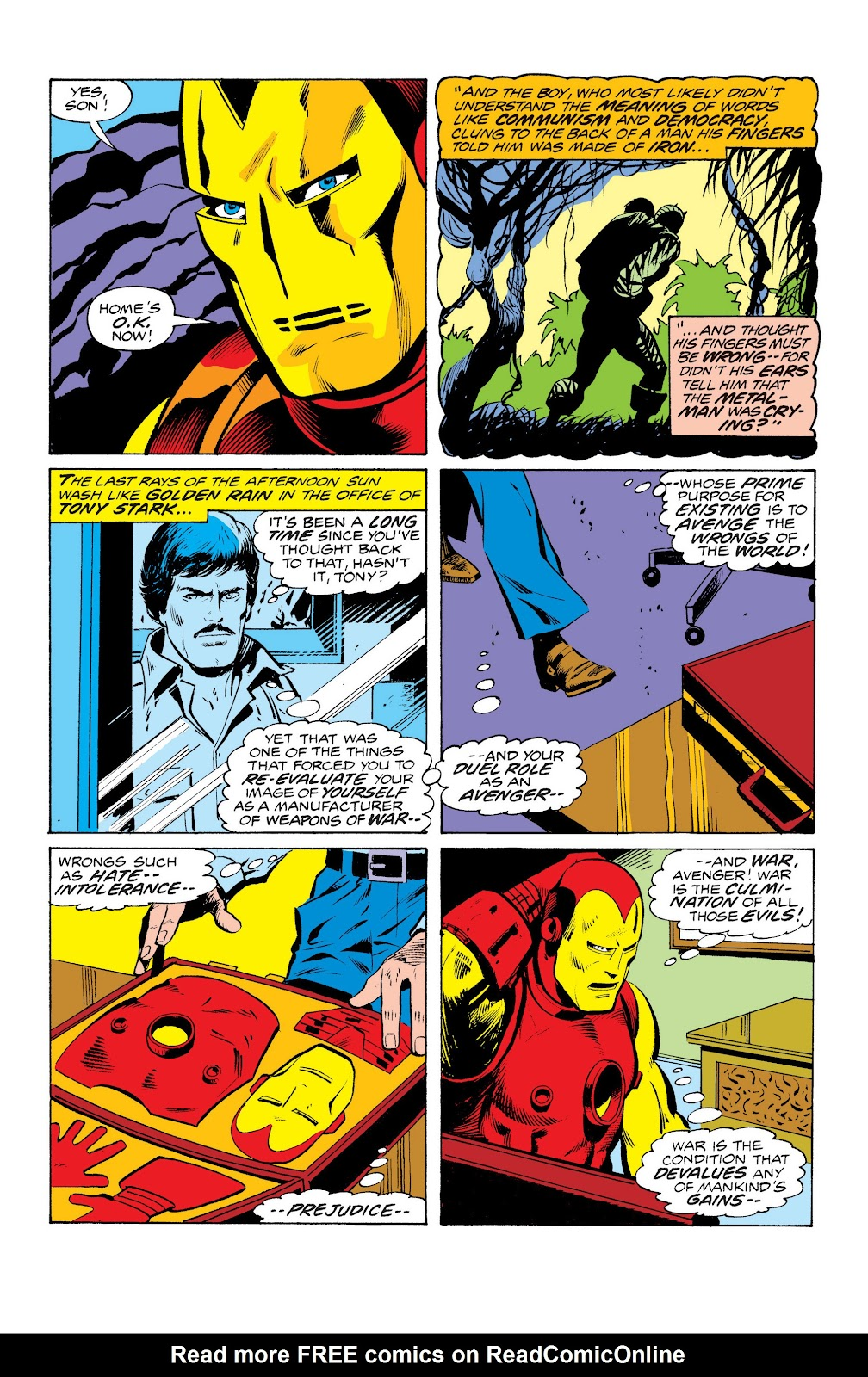 Read online Marvel Masterworks: The Invincible Iron Man comic -  Issue # TPB 10 (Part 2) - 92