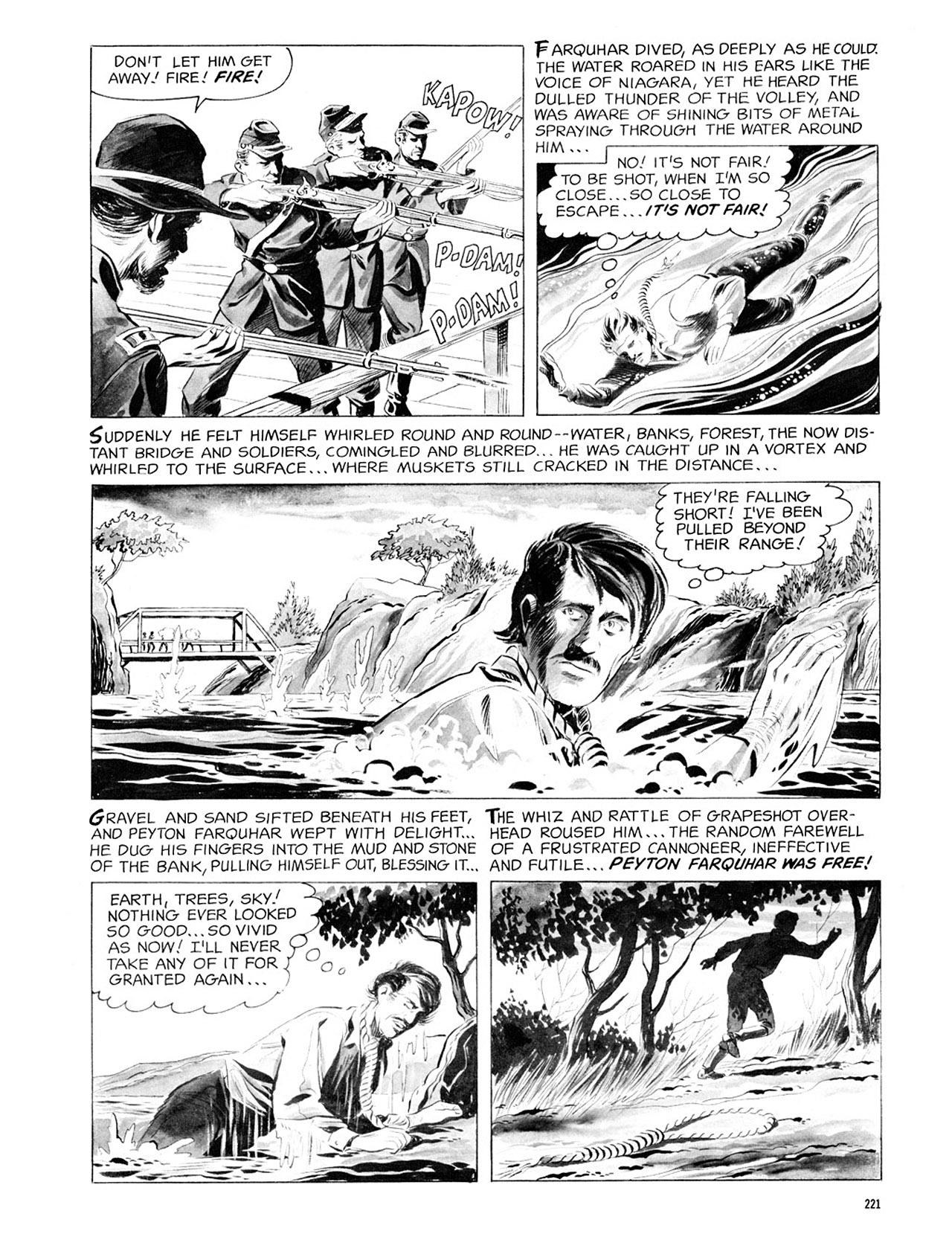 Read online Eerie Archives comic -  Issue # TPB 2 - 222