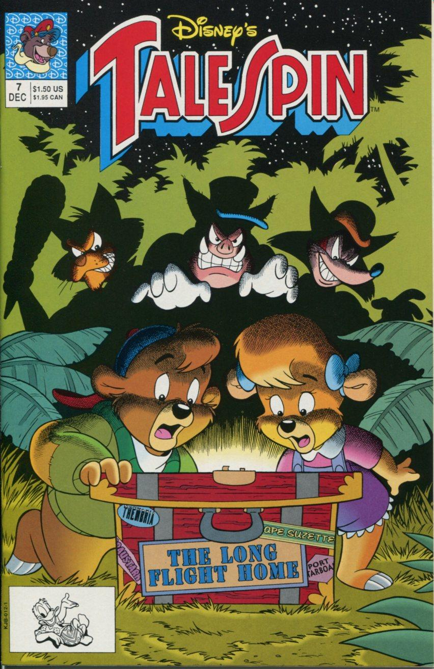 Read online Disney's Tale Spin comic -  Issue #7 - 1