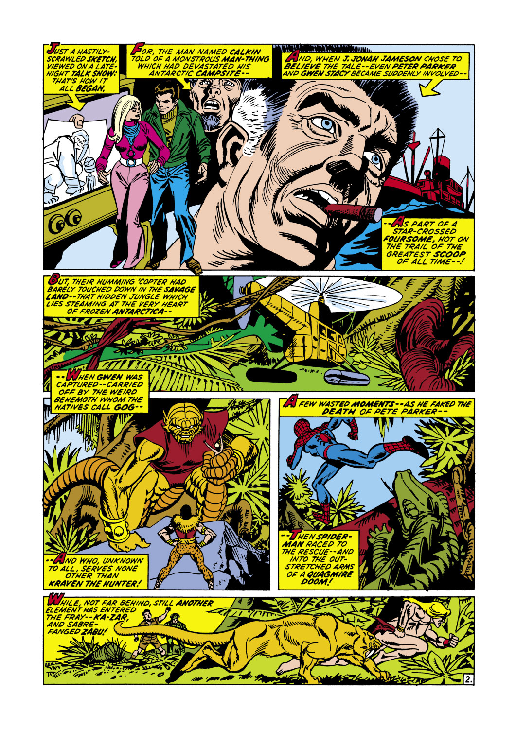 The Amazing Spider-Man (1963) 104 Page 2