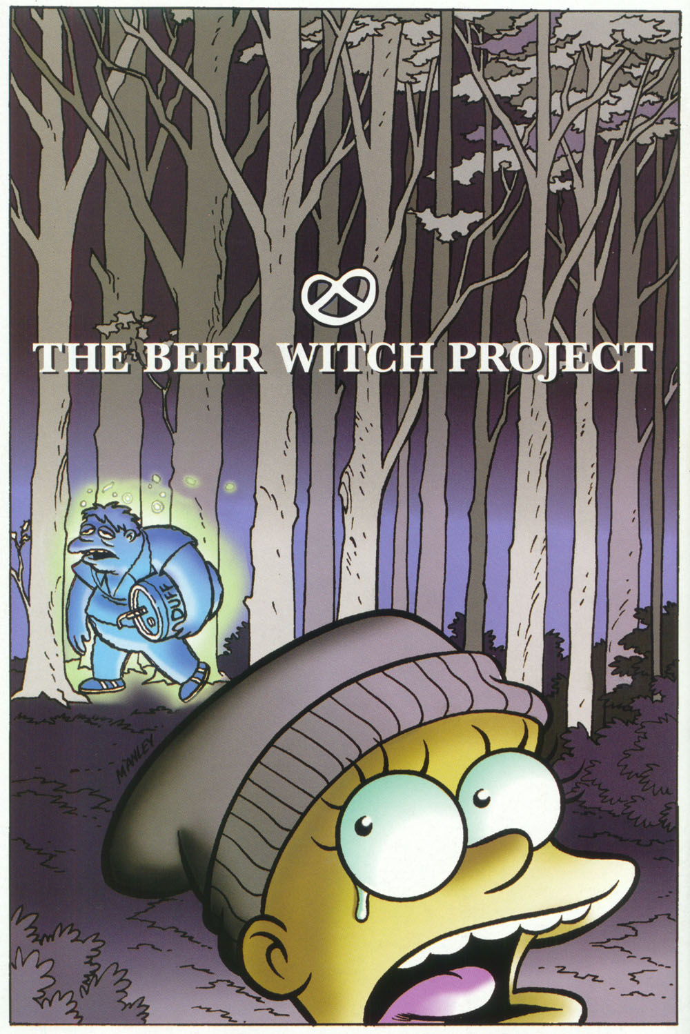 Read online Treehouse of Horror comic -  Issue #5 - 46