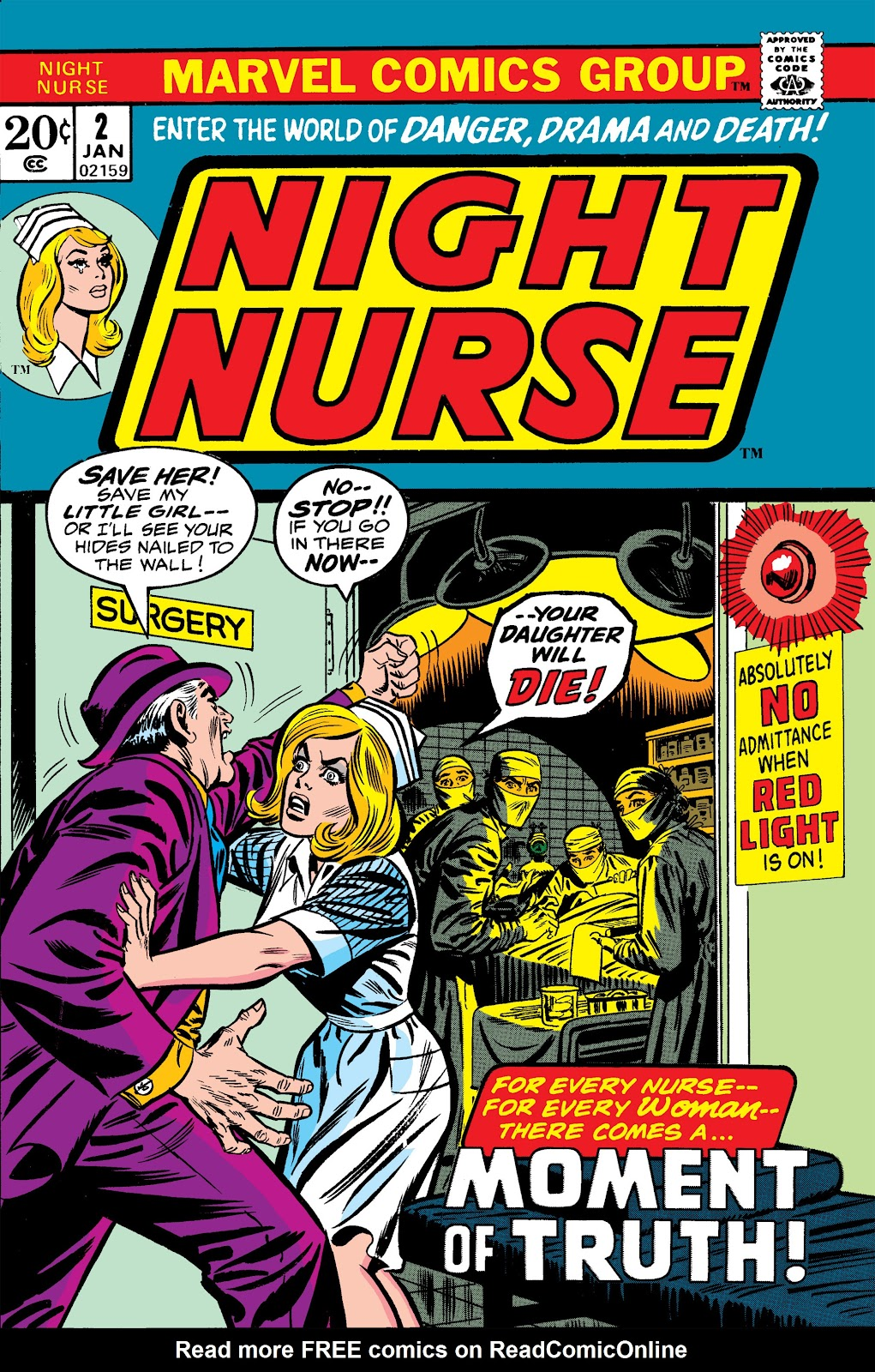 Night Nurse (1972) issue 2 - Page 1