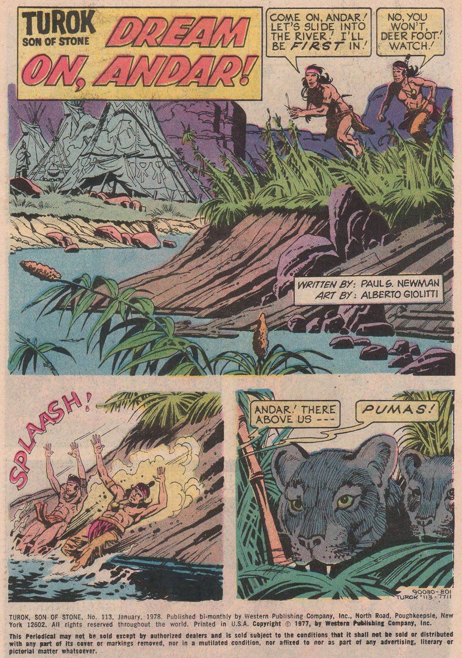 Read online Turok, Son of Stone comic -  Issue #113 - 3