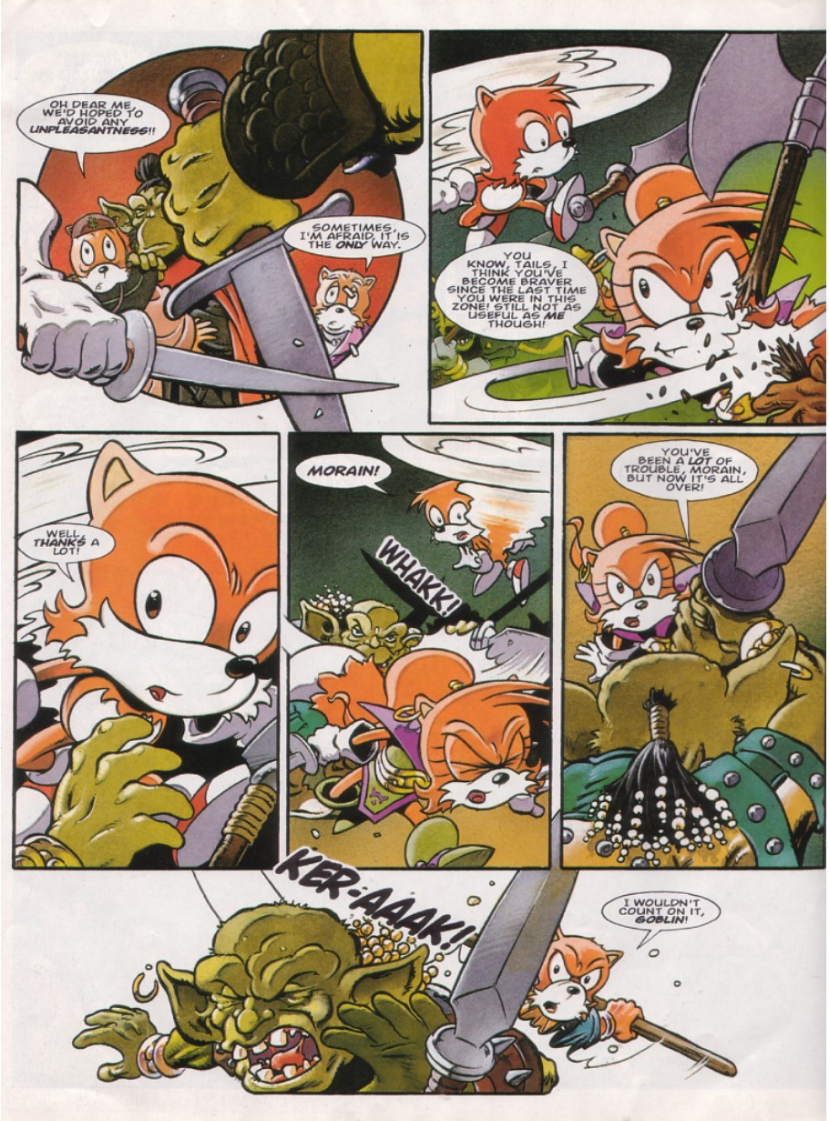 Read online Sonic the Comic comic -  Issue #144 - 19