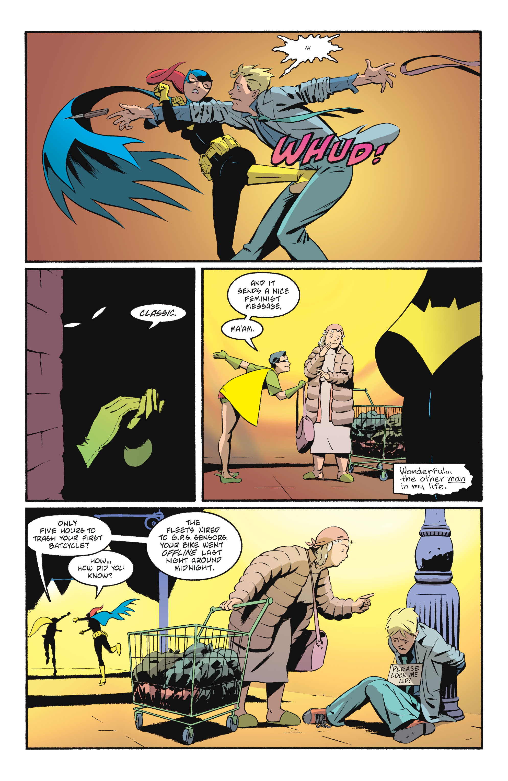 Read online Batgirl/Robin: Year One comic -  Issue # TPB 2 - 149